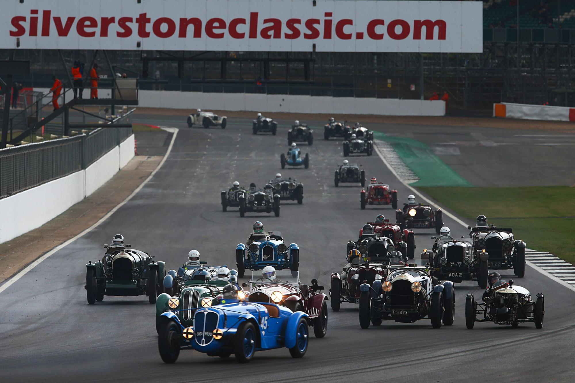 2019 Silverstone Classic Pre-war Bentley's