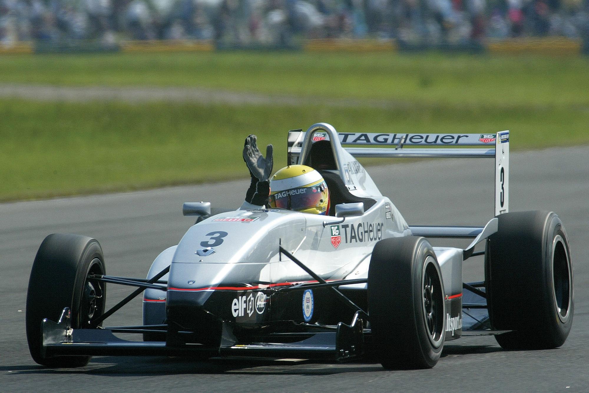 Lewis Hamilton Formula Renault