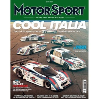 Product image for July 2020 | Cool Italia - Lancia | Motor Sport Magazine§