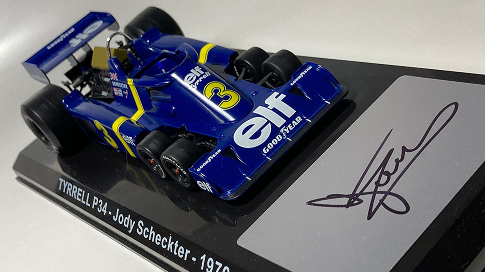 Tyrrell six-wheeler