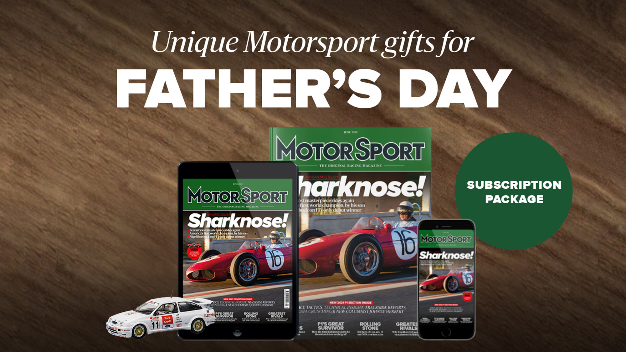 Father's Day offer with Scalextric