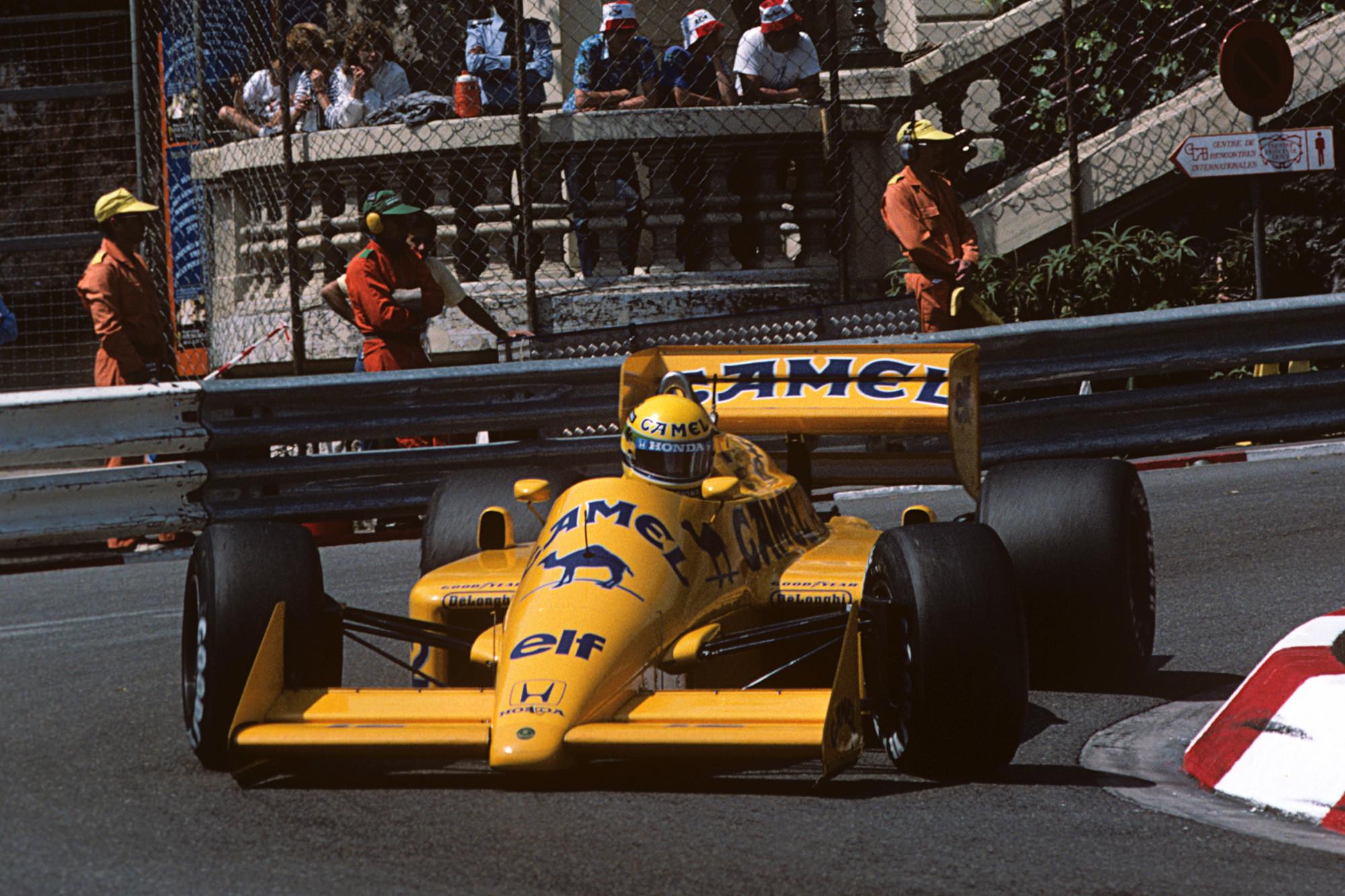 Ayrton Senna, Monaco GP 1987