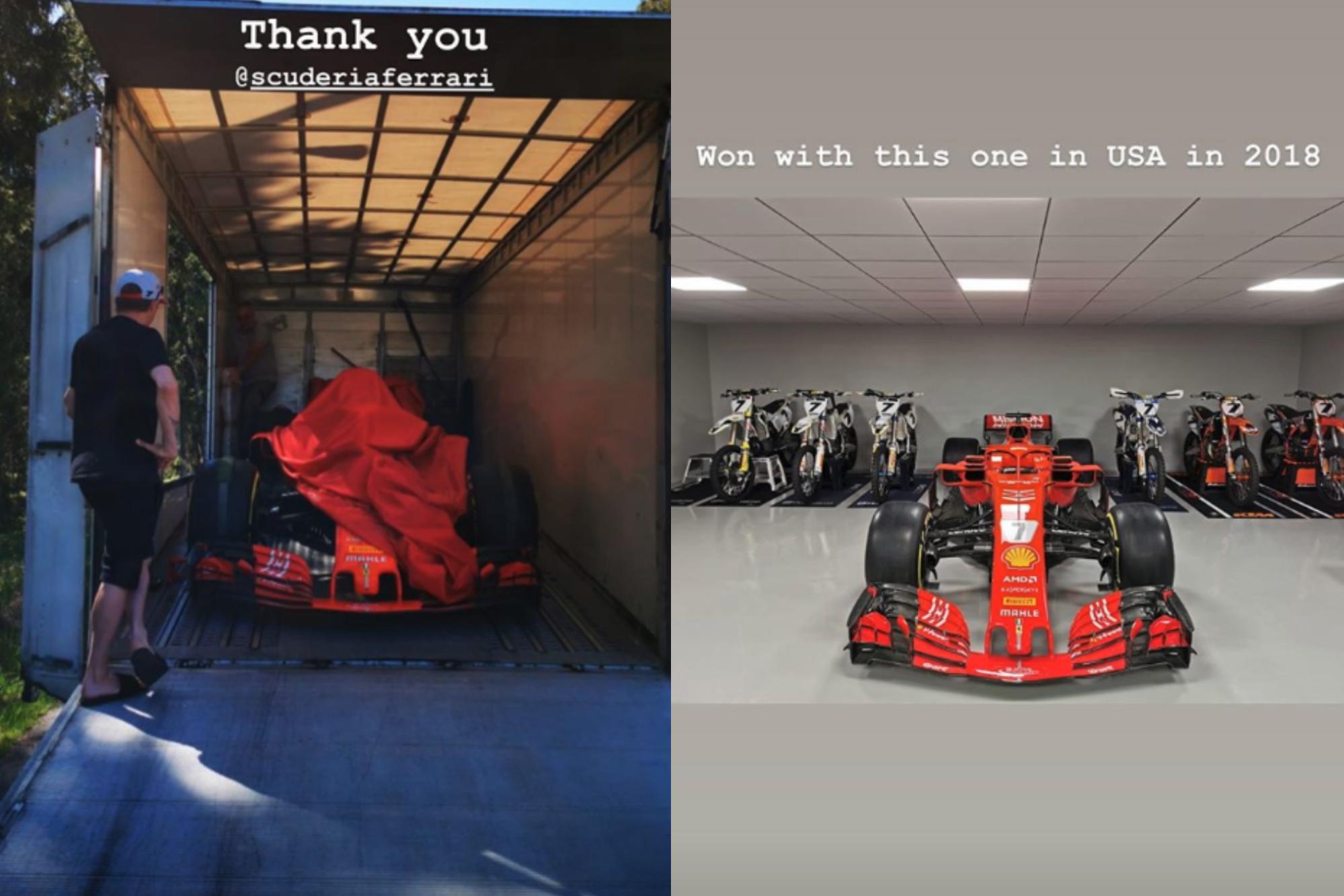 Kimi Raikkonen SF71H