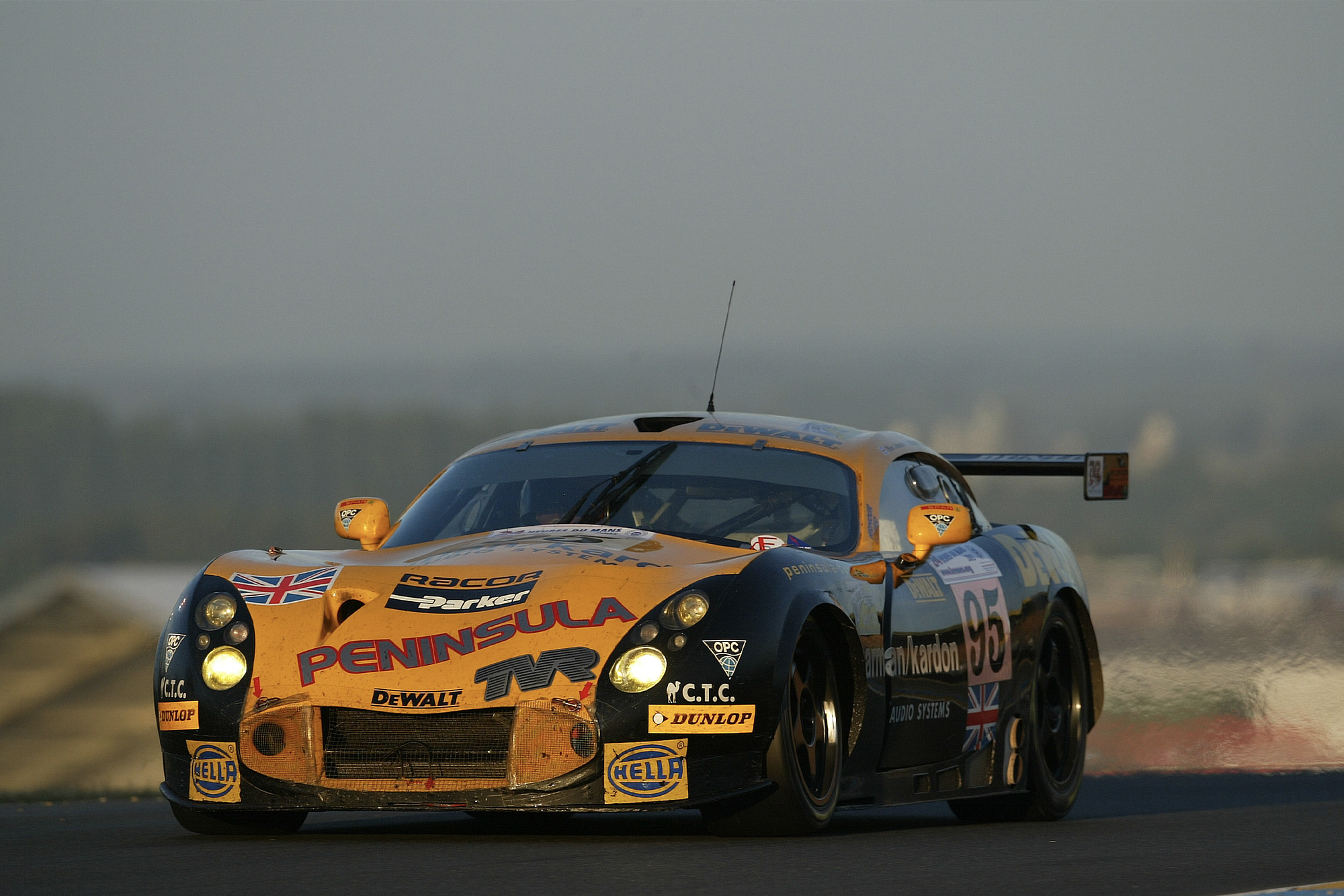 No 95 TVR Tuscan T400R at the 2005 Le Mans 24 Hours