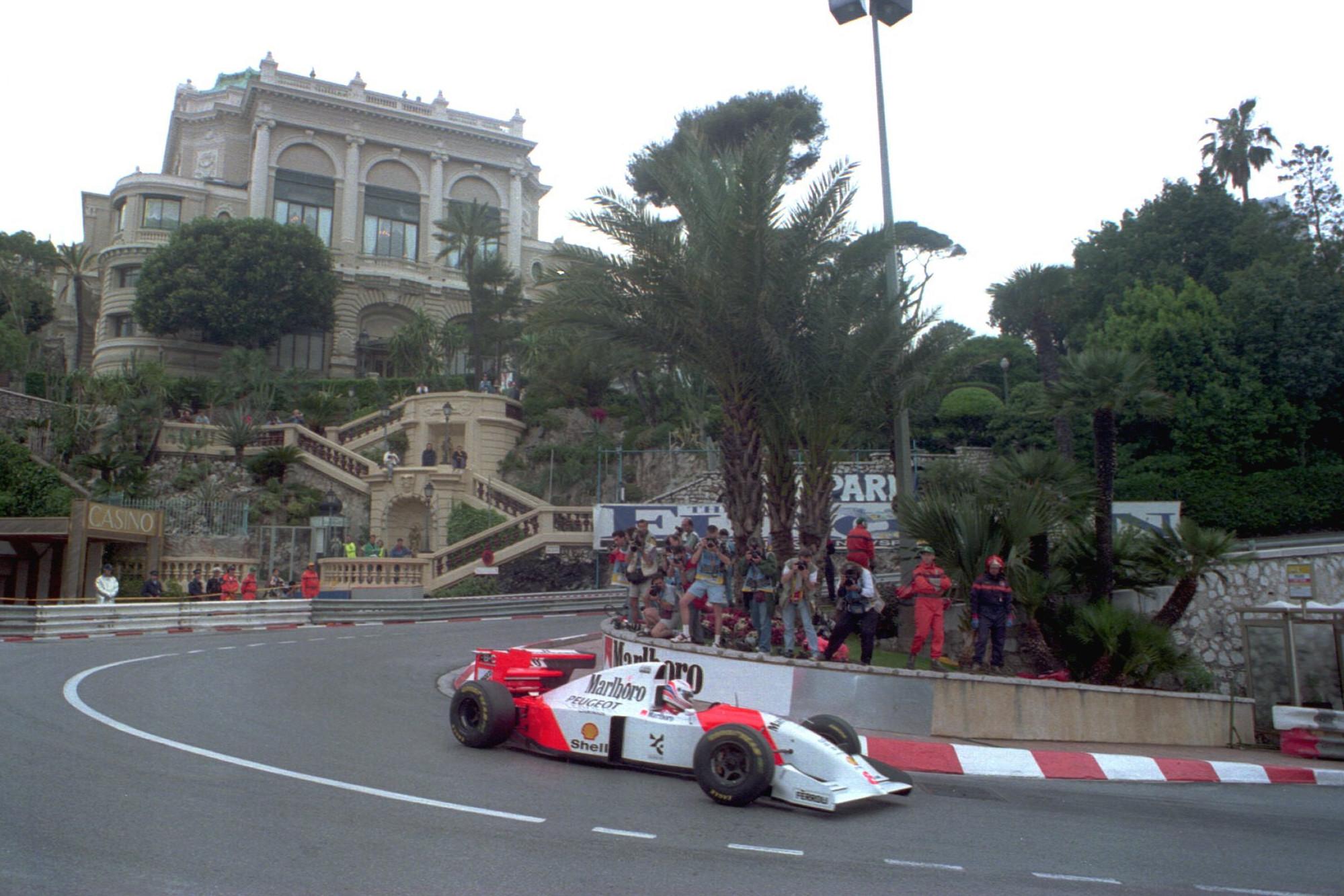 Martin Brundle, Monaco 1994