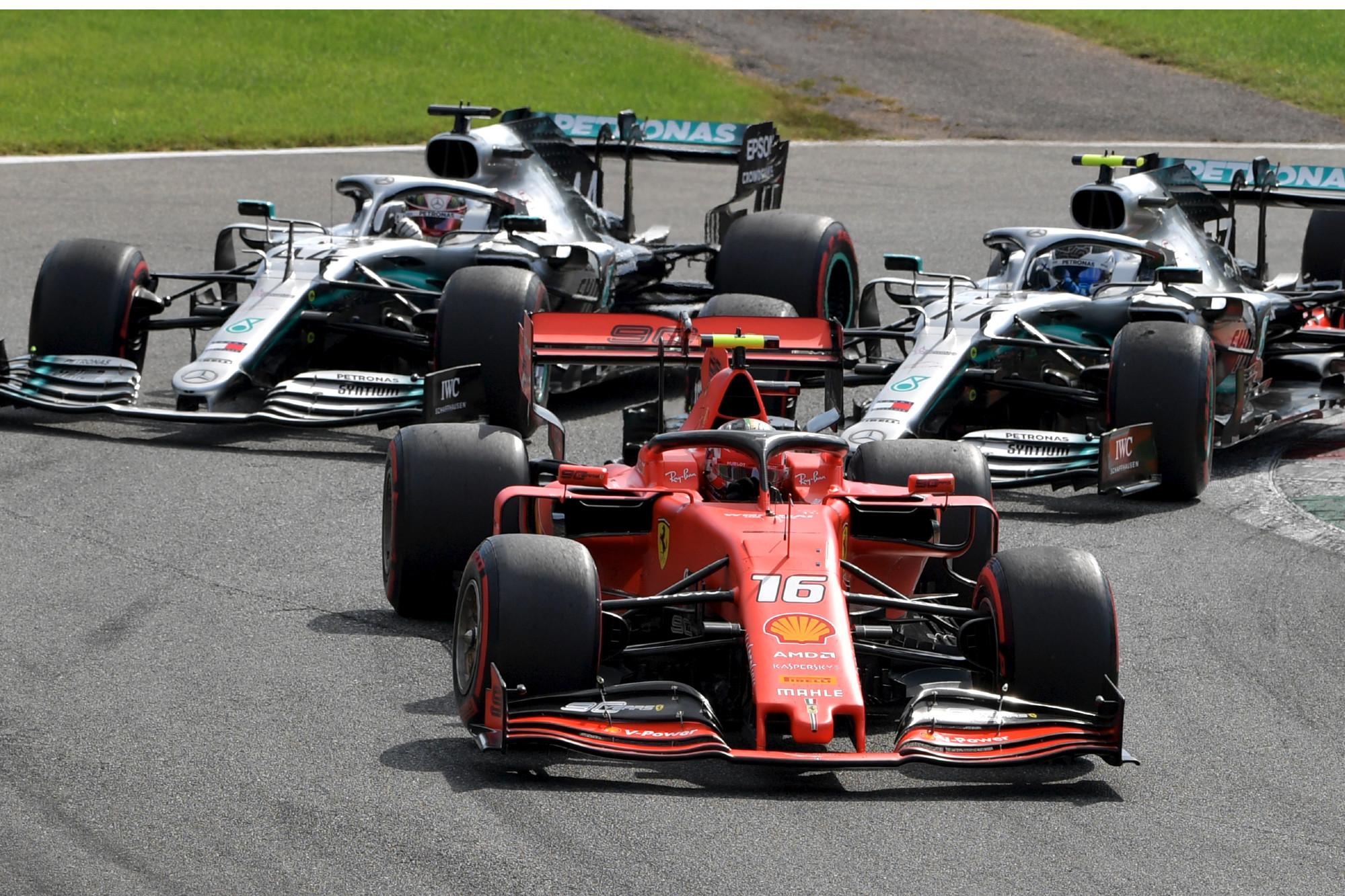 Charles Leclerc, 2019 Italian GP