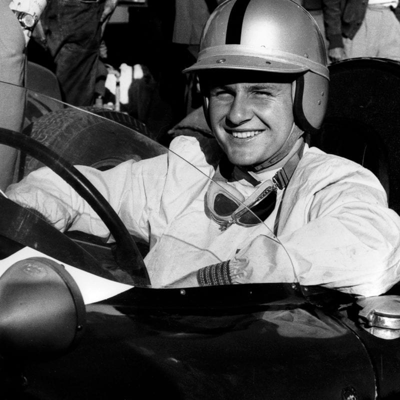 Bruce McLaren 1960 Portuguese GP