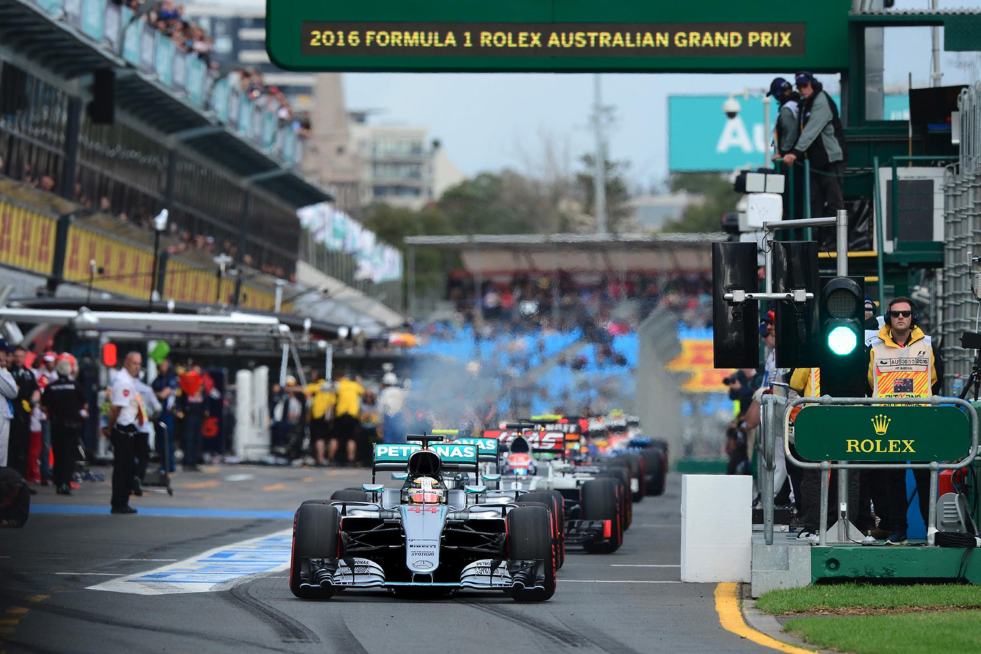 2016 Australian GP Qualifying