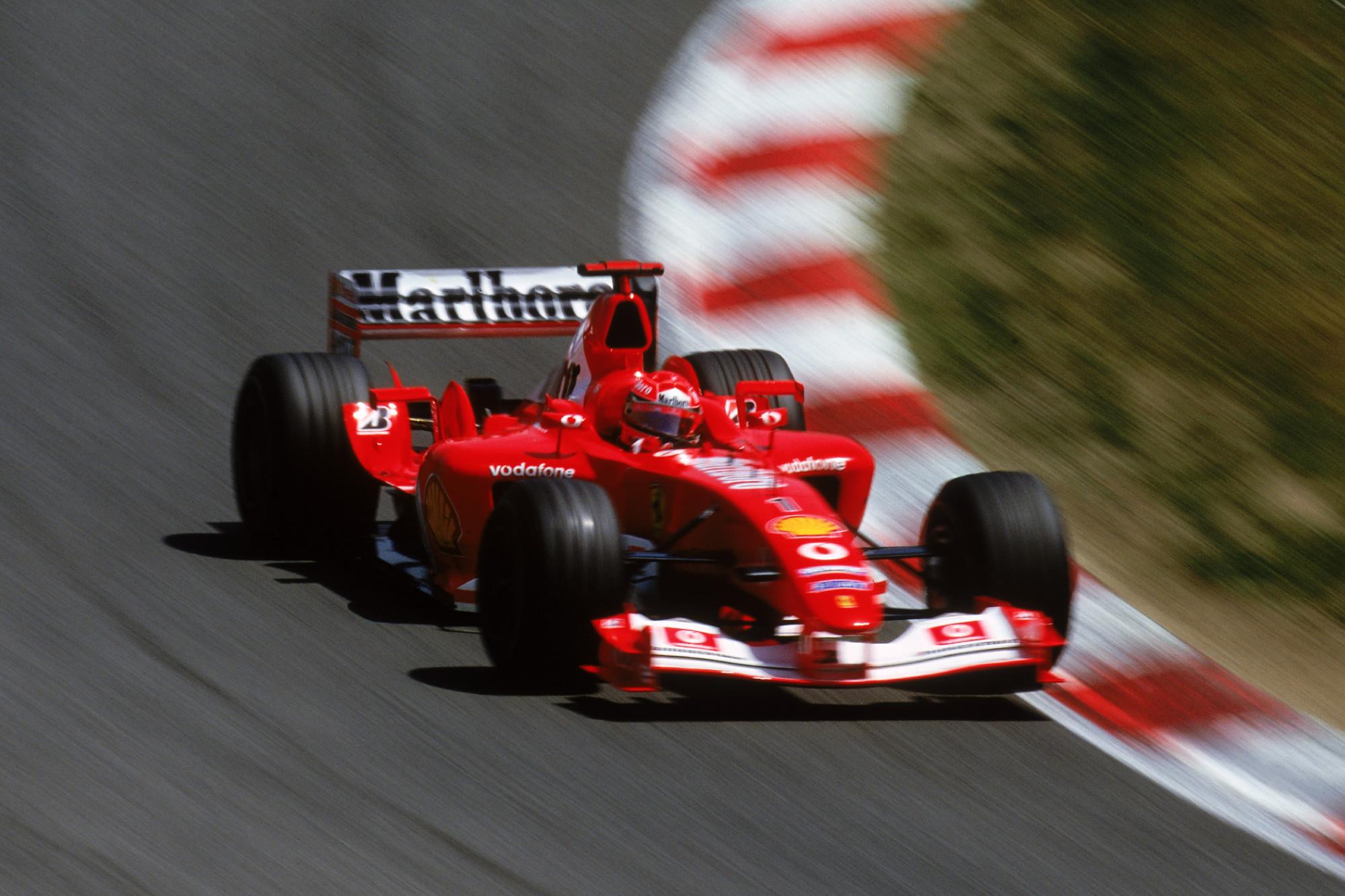 2003 Spanish GP, Michael Schumacher
