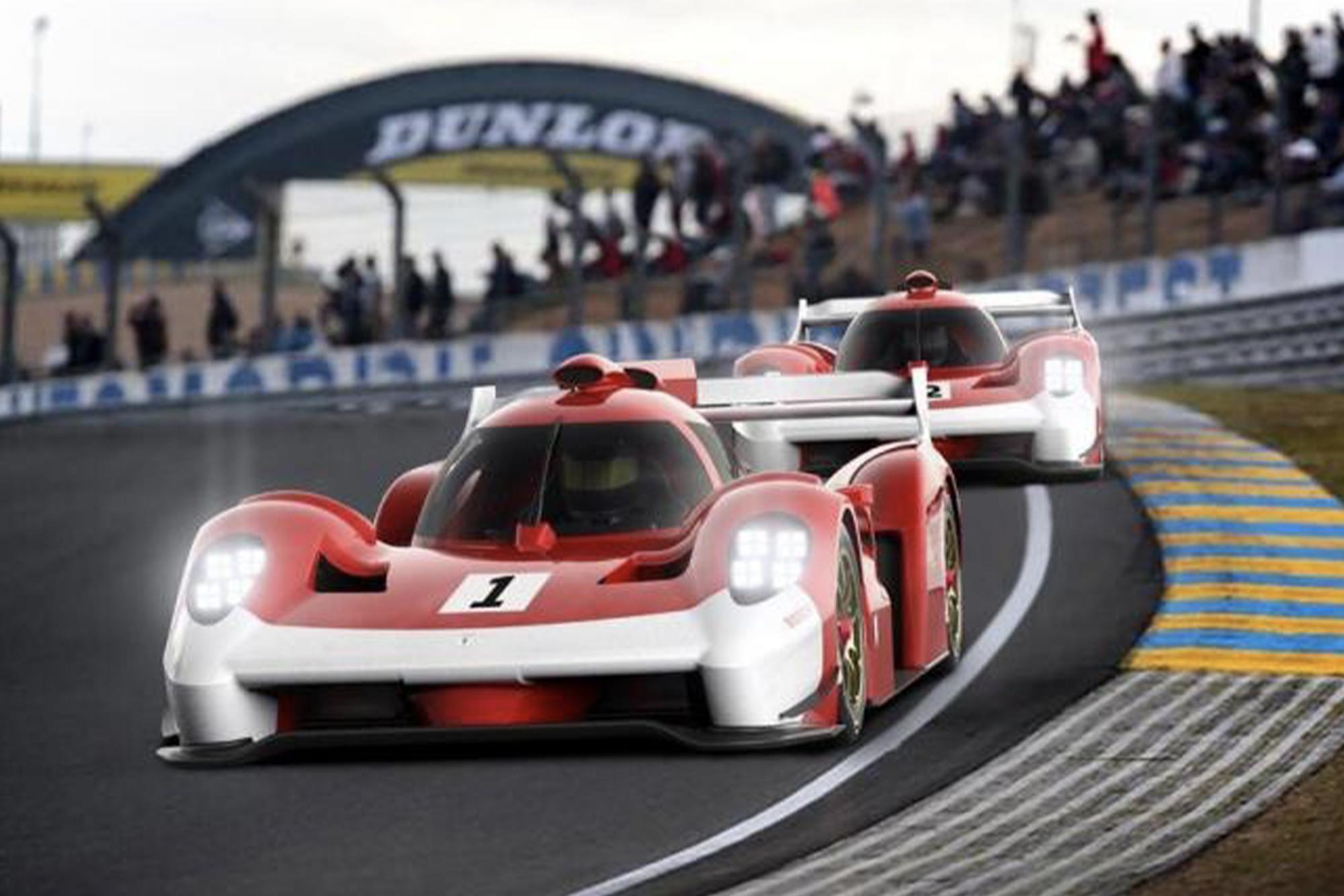Glickenhaus Le Mans render