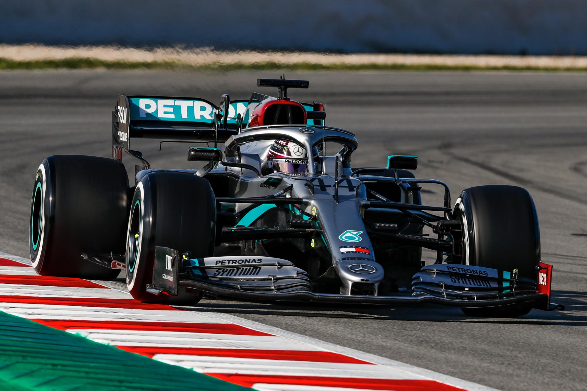 F1 2020 Testing, Lewis Hamilton