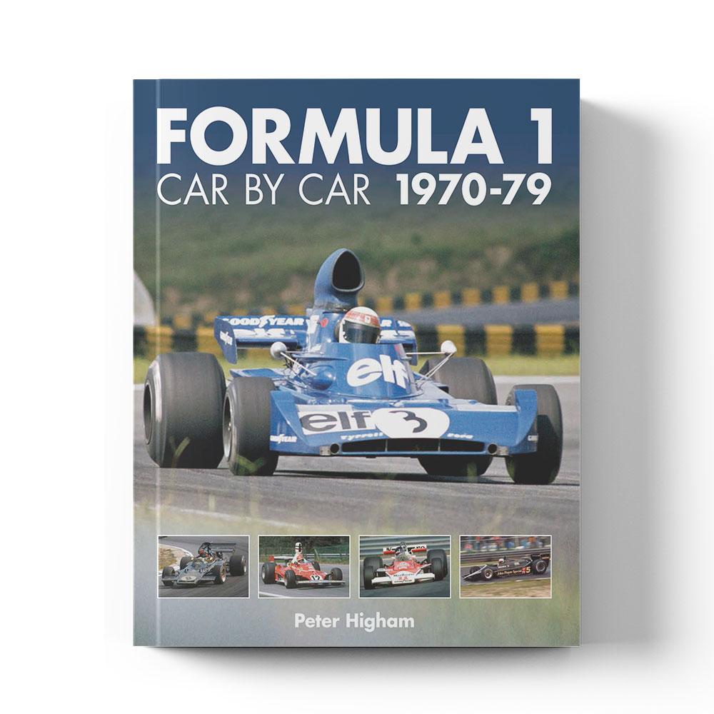 Product image for Formula 1 Car by Car: 1970–79   Peter Higham   Book   Hardback