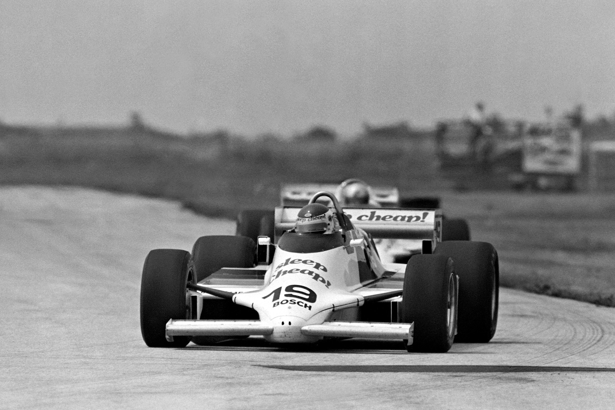 Bobby Rahal on his way to victory at Cleveland in 1982