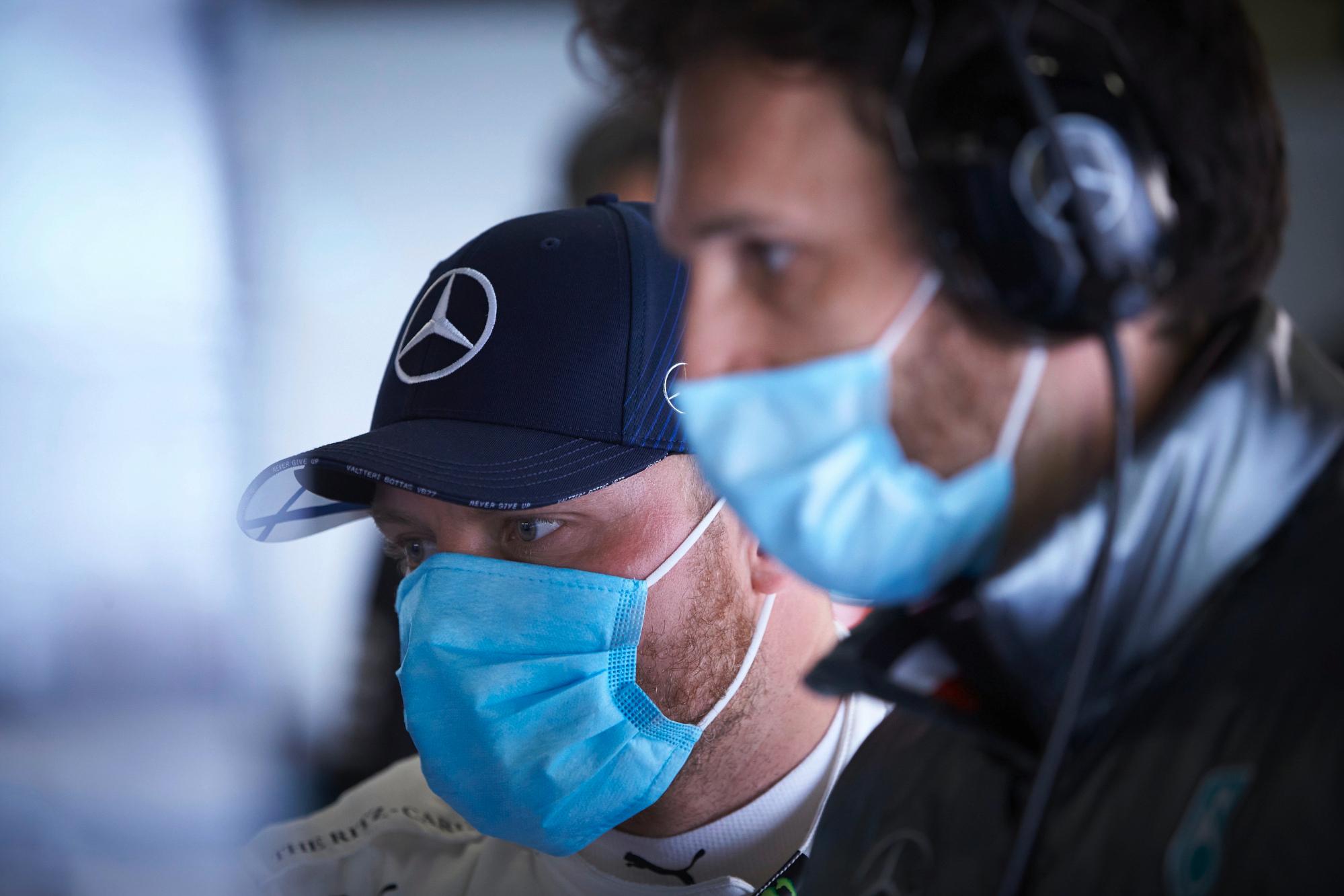 Valtteri Bottas, 2020 Silverstone test