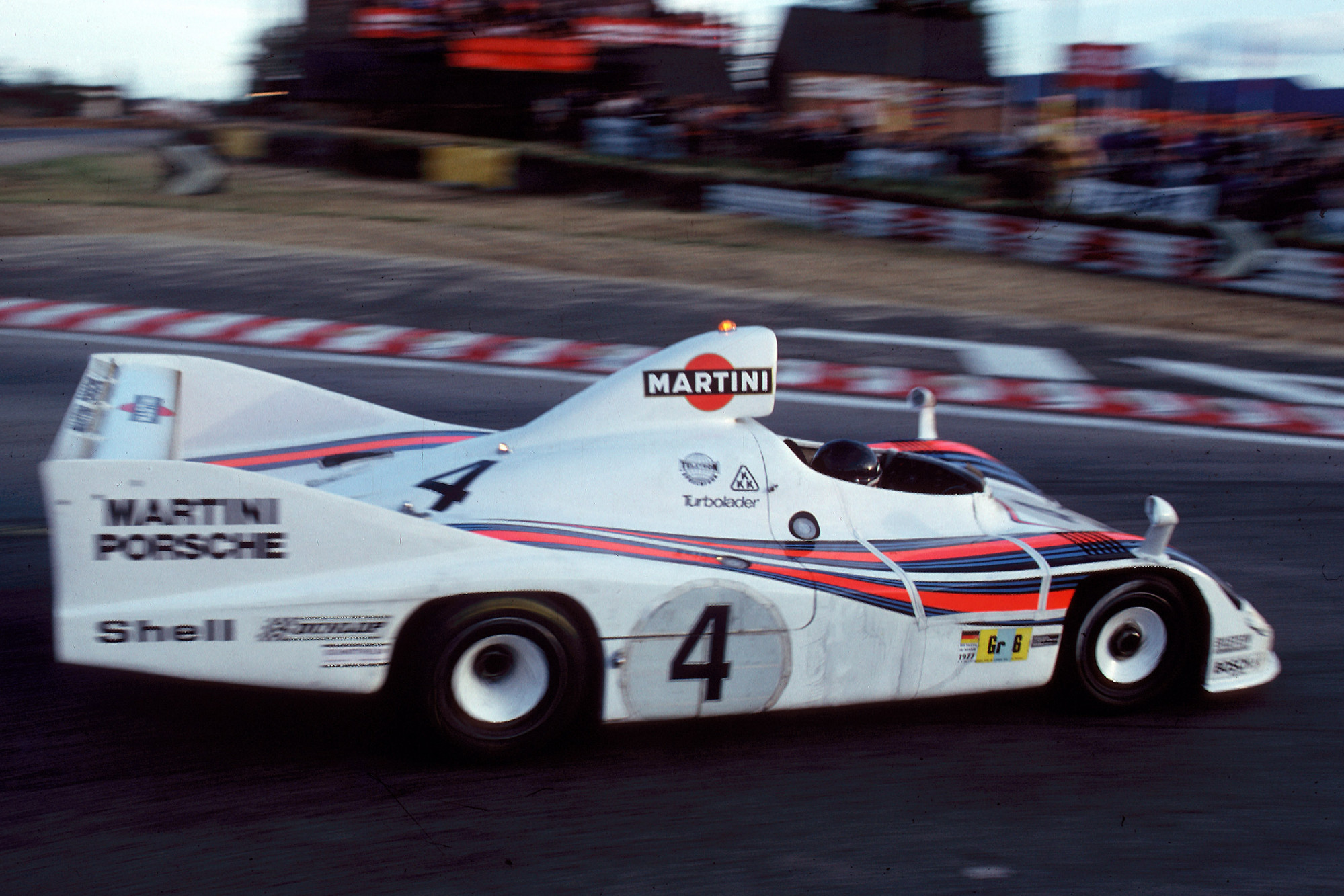 Porsche 936, 1977 Le Mans