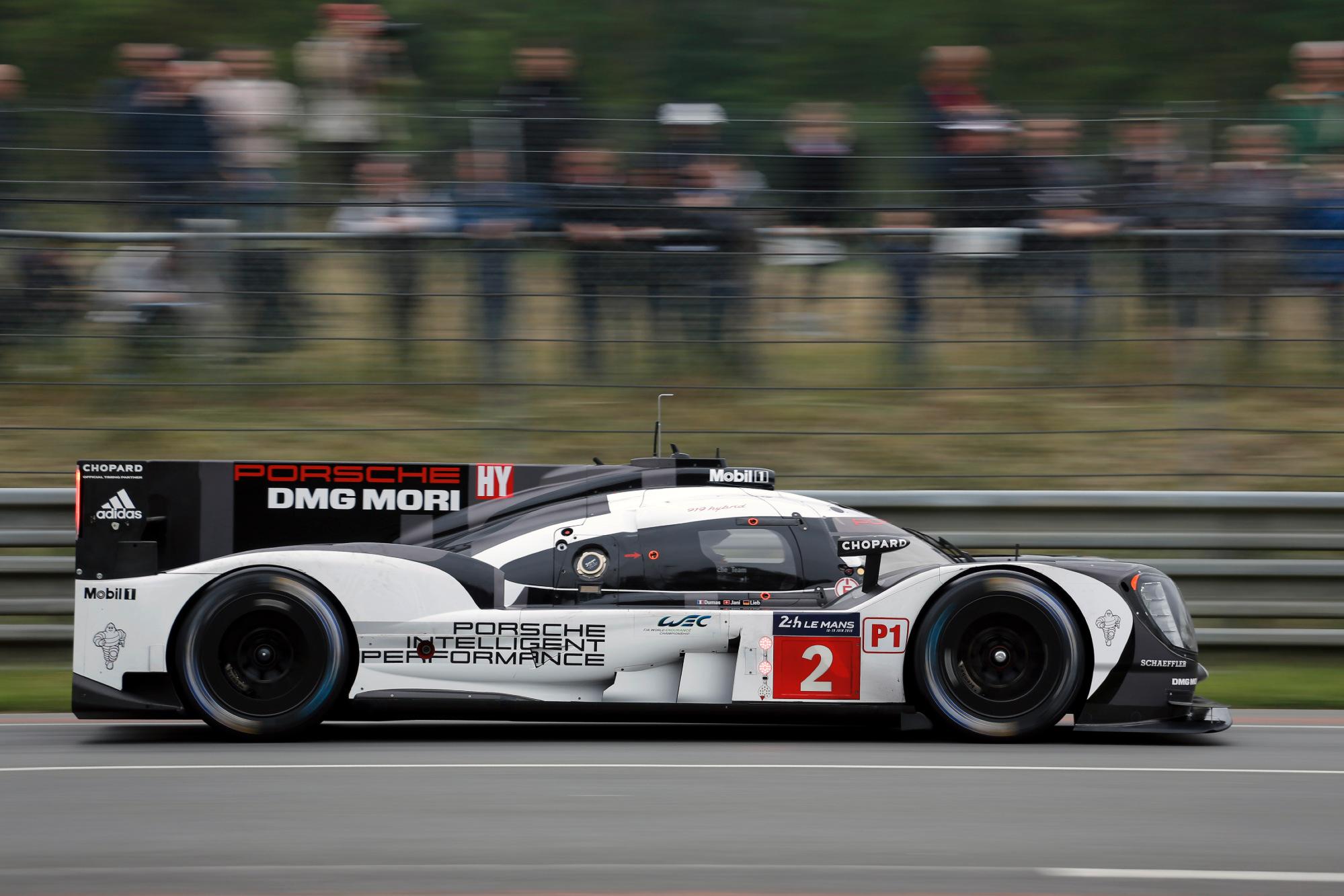 2016 Le Mans, Porsche 919H