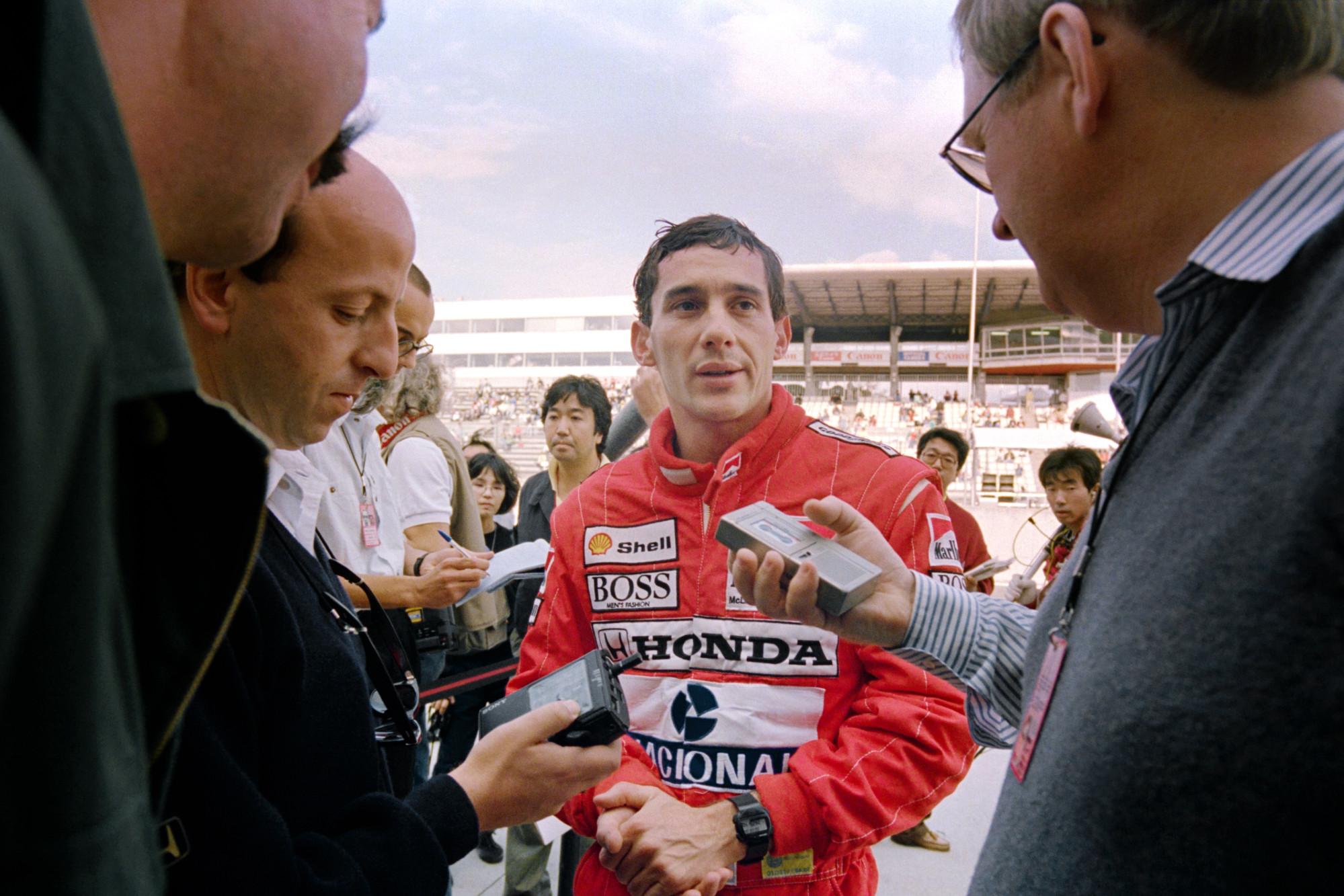 Ayrton Senna, 1988 Japanese GP