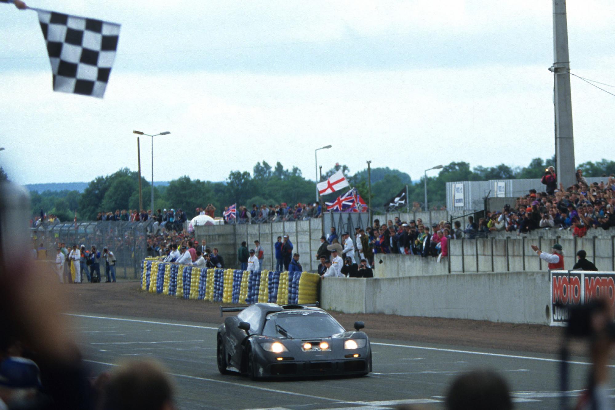 McLaren FR GTR, Le Mans 1995