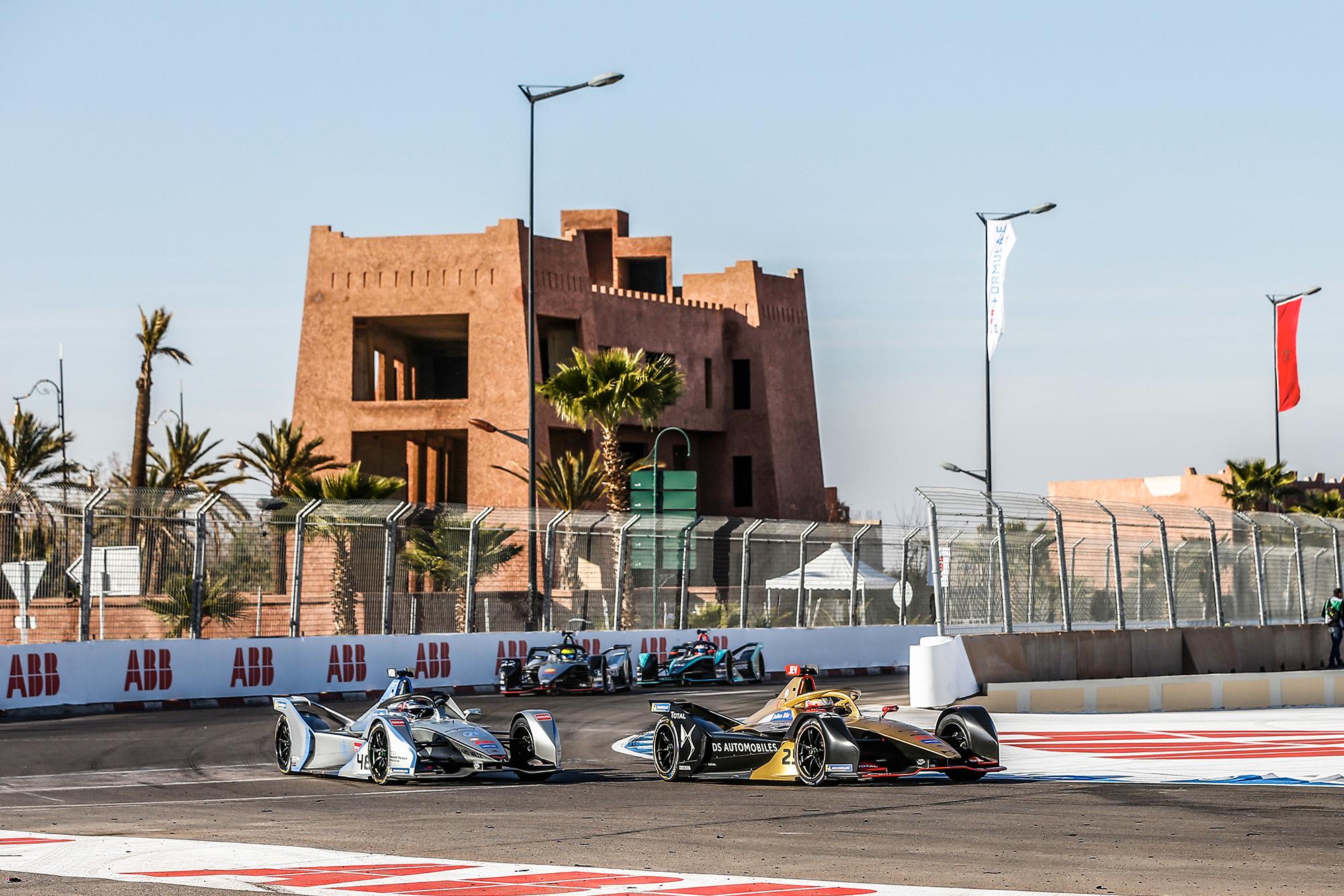 2020 Formula E Marrakech race