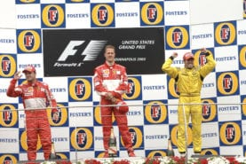 Tiago Monteiro: the only man who cheered at the 2005 US Grand Prix