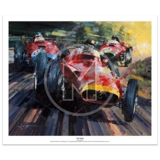 Product image for Epic Victory | Juan Manuel Fangio – Maserati 250F – 1957 | John Ketchell | Limited Edition Print