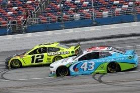 Blaney wins photo finish at Talladega as NASCAR rallies behind Wallace