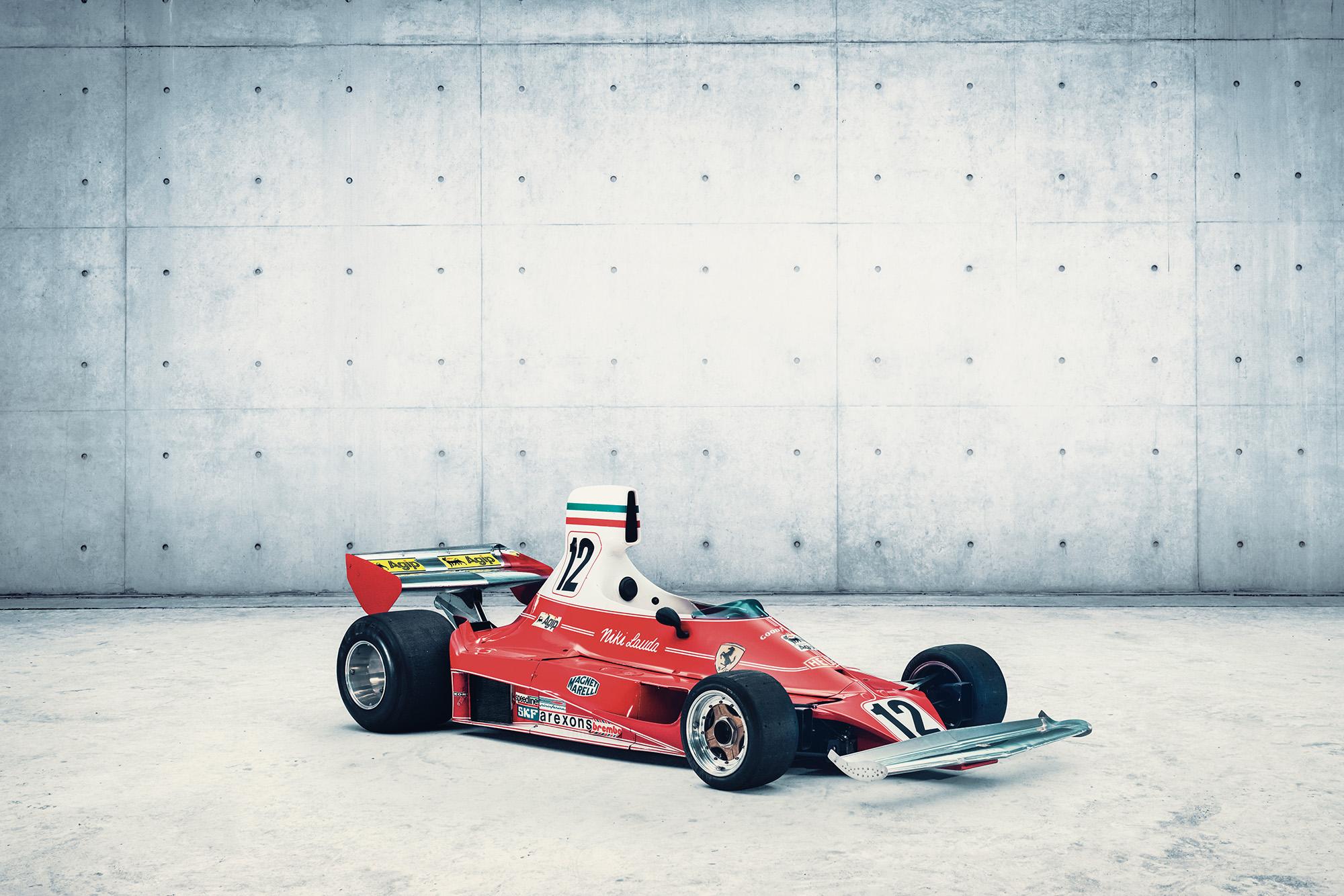Niki Lauda 1975 Ferrari 312T