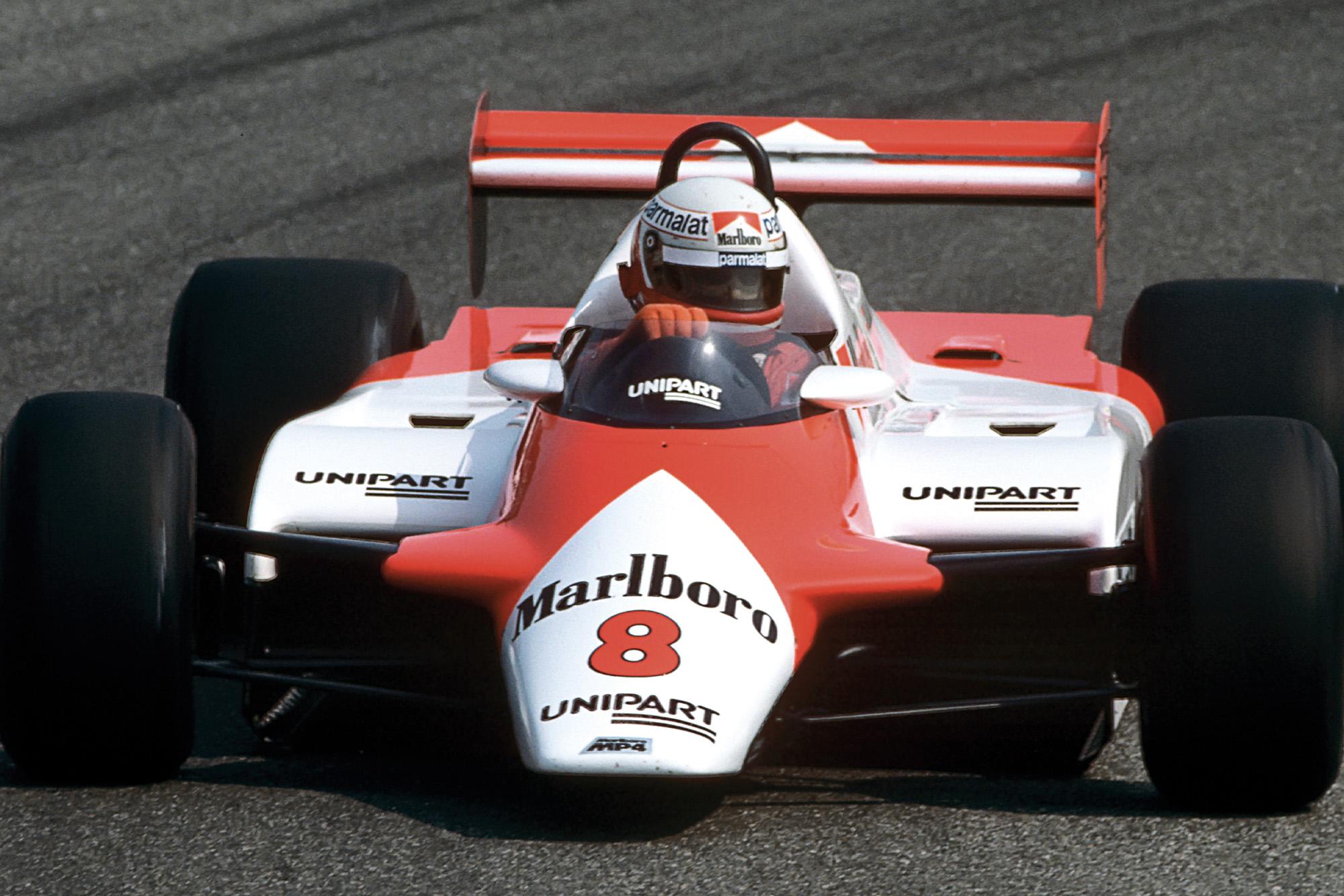 Niki Lauda 1982 Dutch Grand Prix