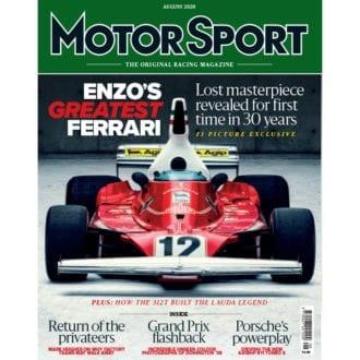 Product image for August 2020 | Enzo's Greatest Ferrari | Motor Sport Magazine
