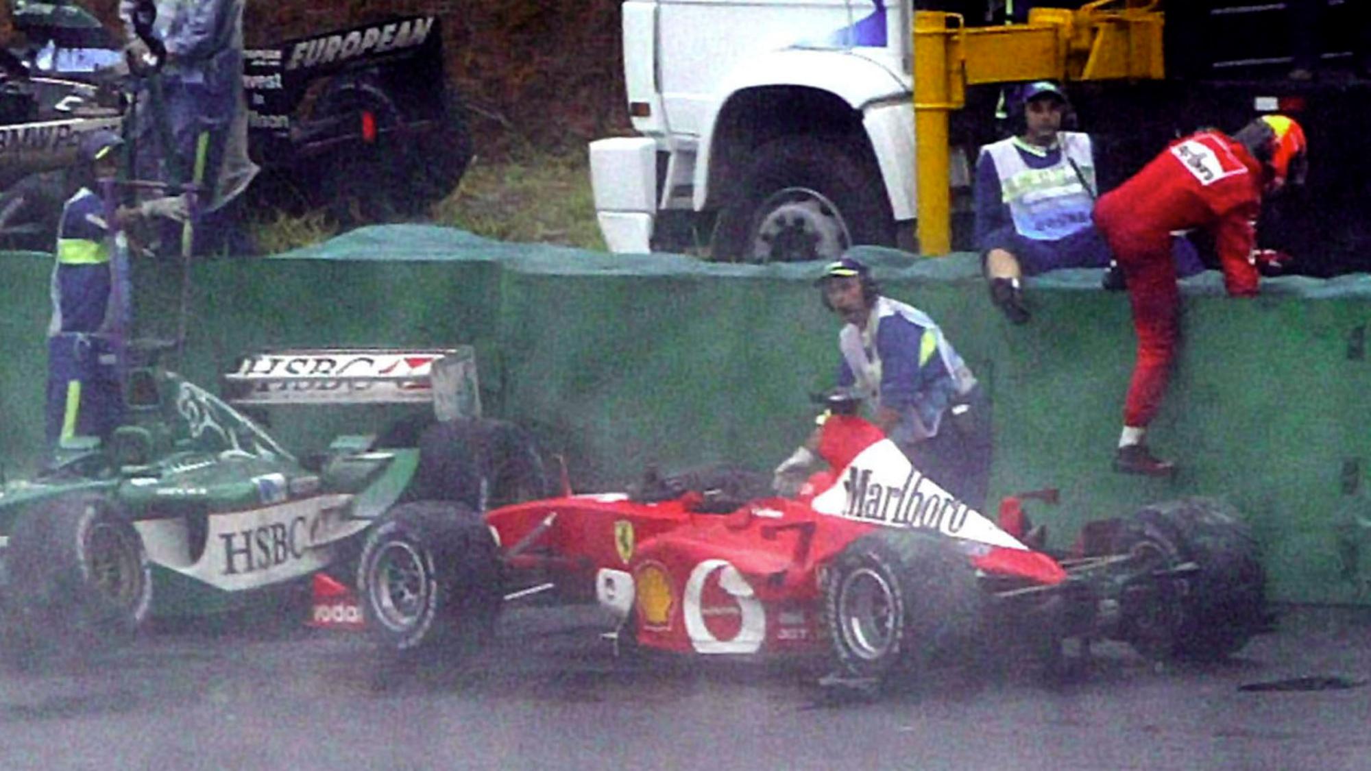 Michael Schumacher, Brazil 2003