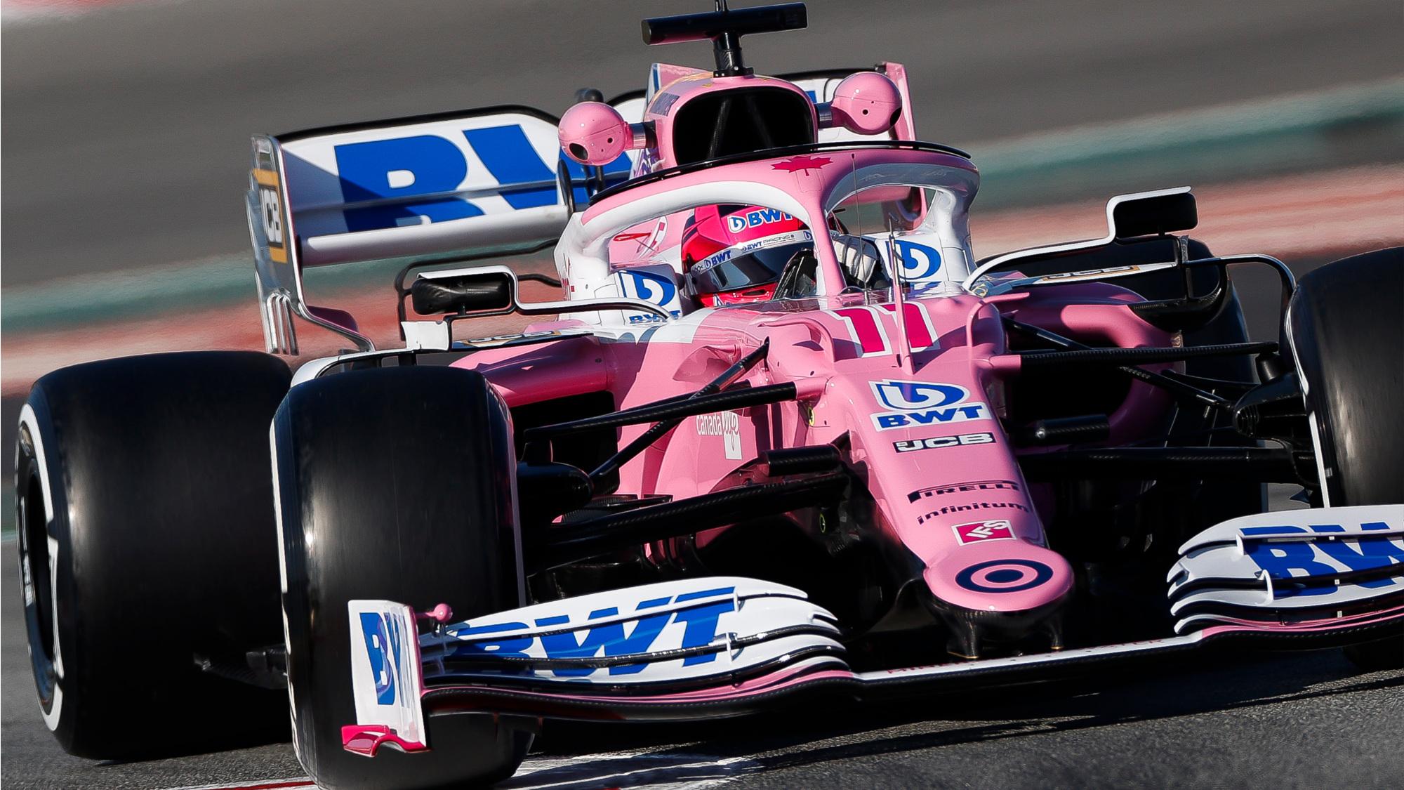 Sergio Perez, 2020 testing