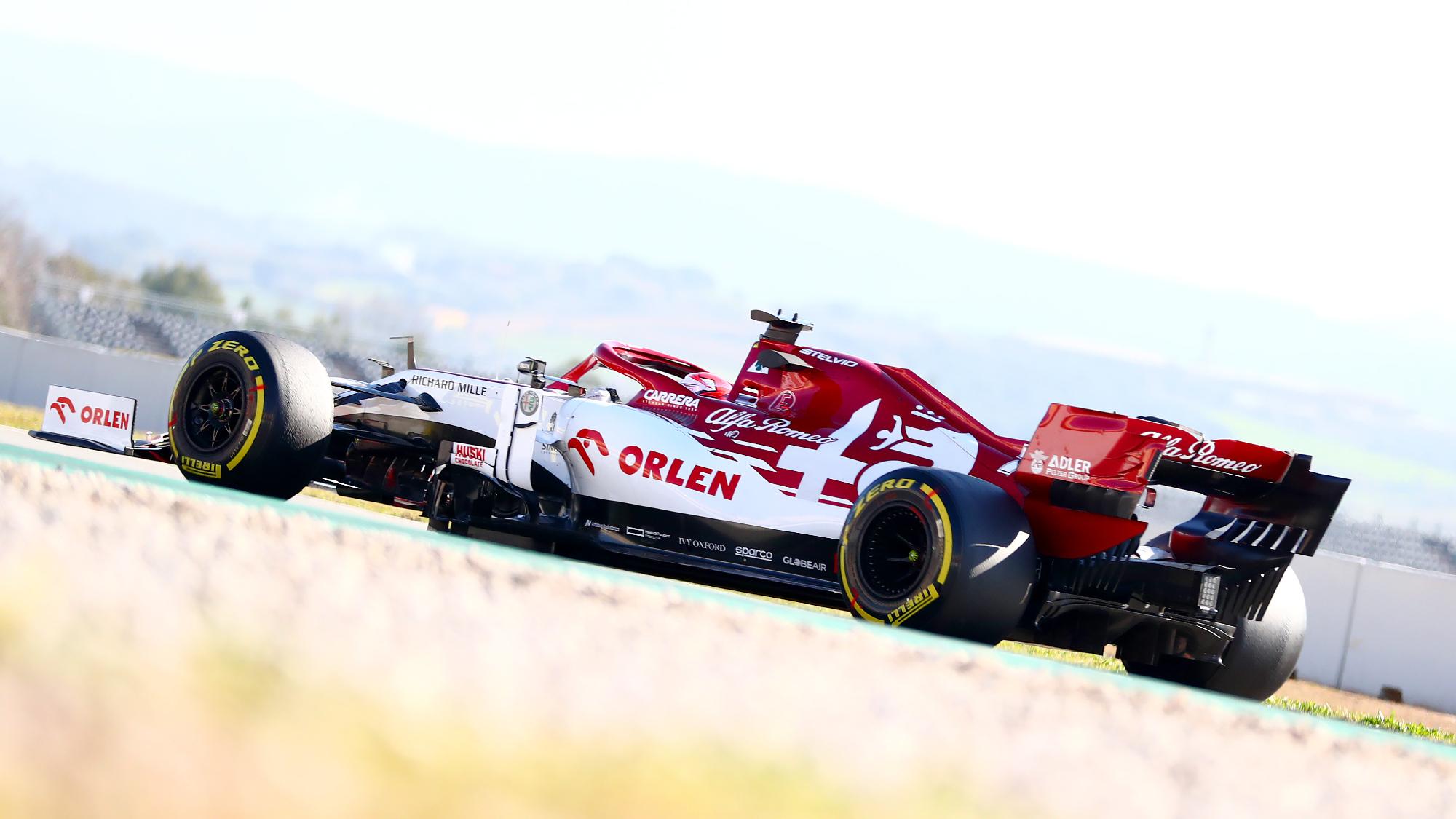 Kimi Raikkonen, pre-season testing 2020