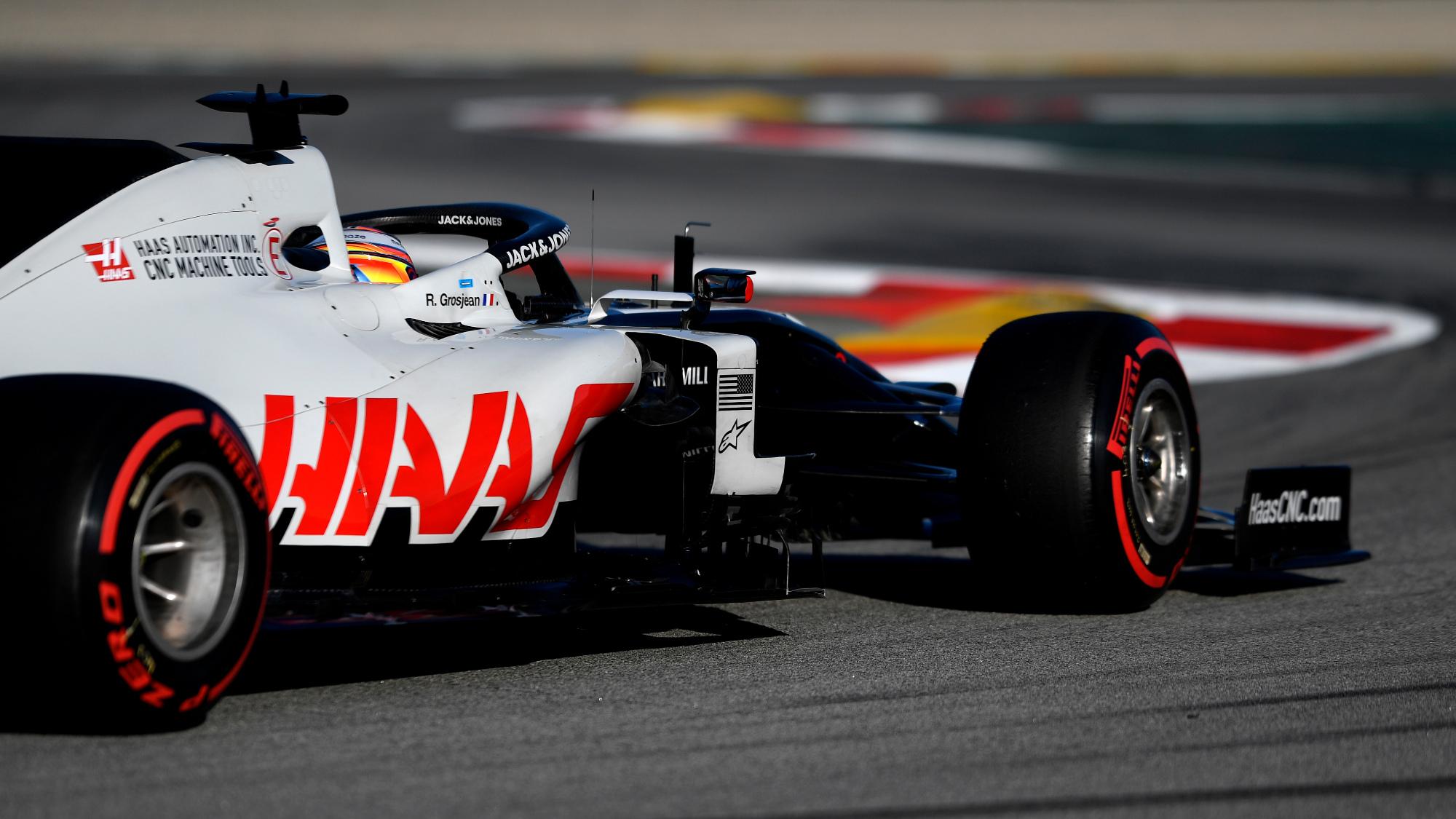 Romain Grosjean, 2020 testing