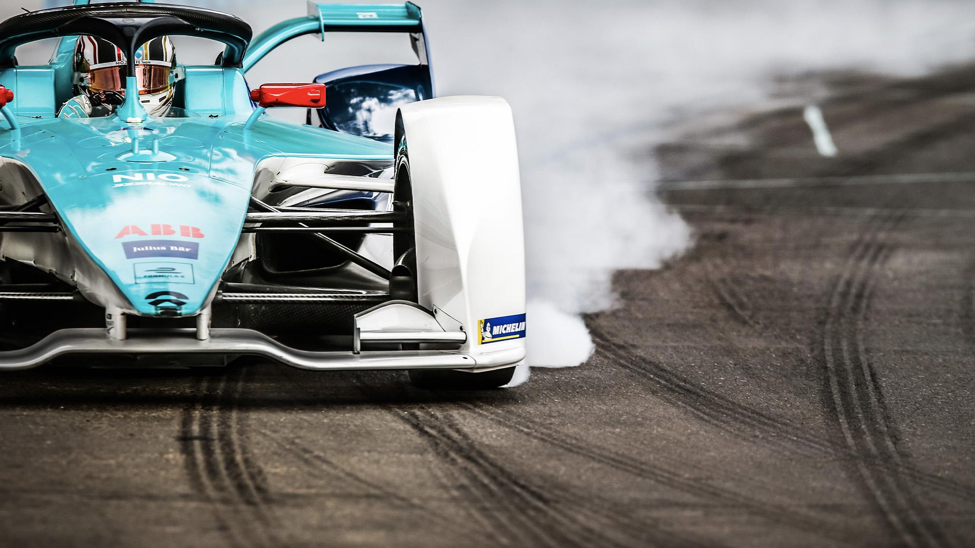 NIO Formula E race Chile