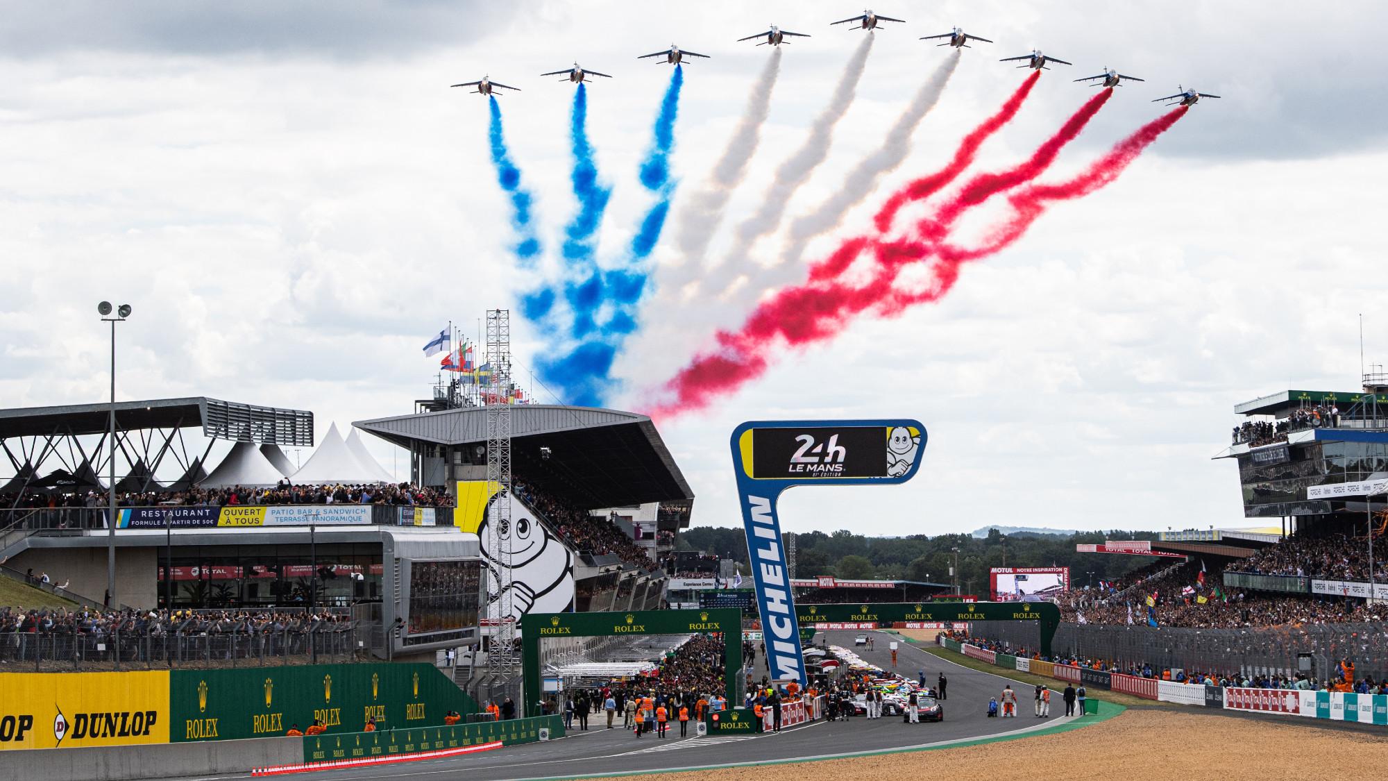 Race start, Le Mans 2019