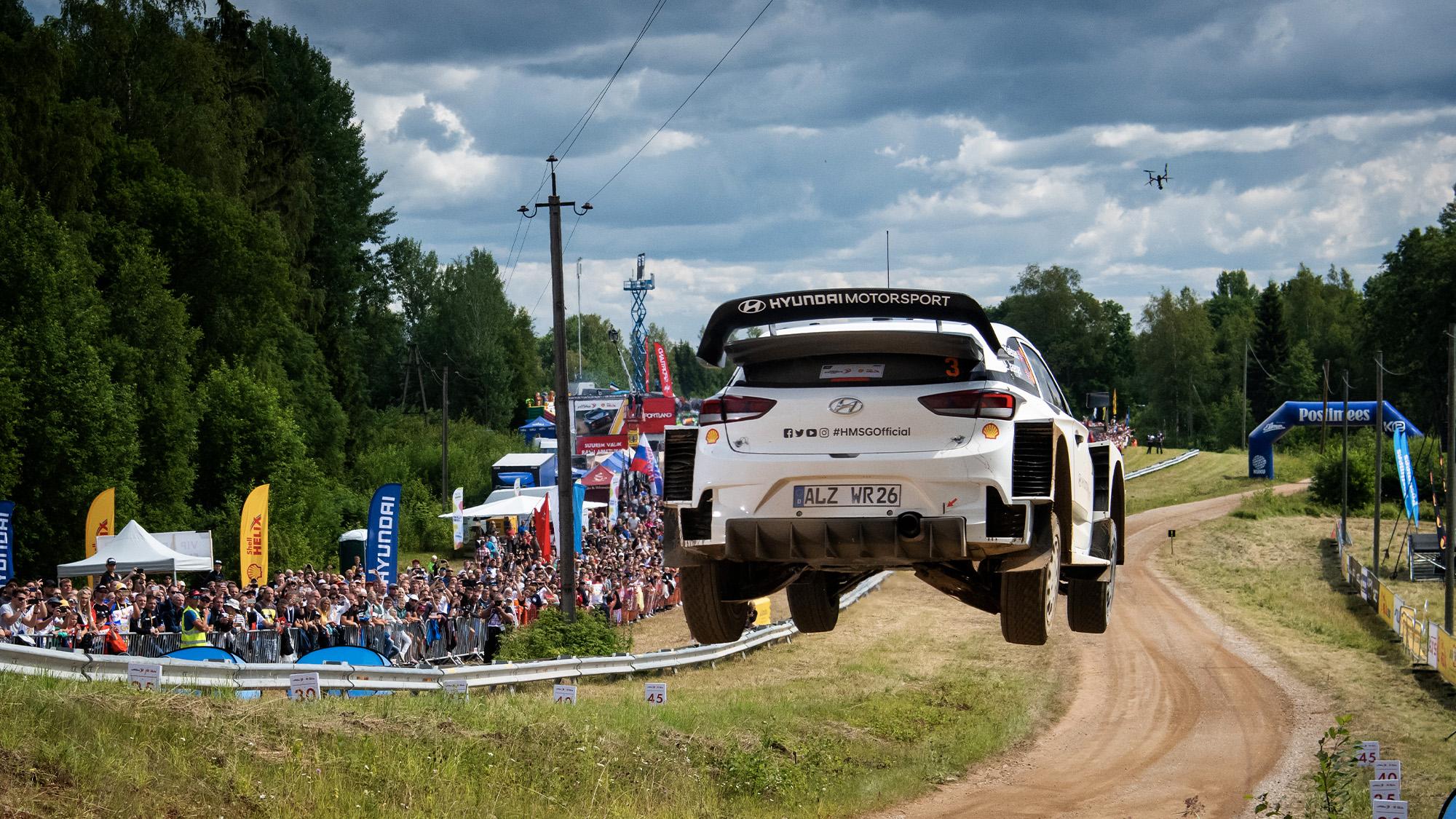 Hyundai 2019 Shell Helix Rally Estonia