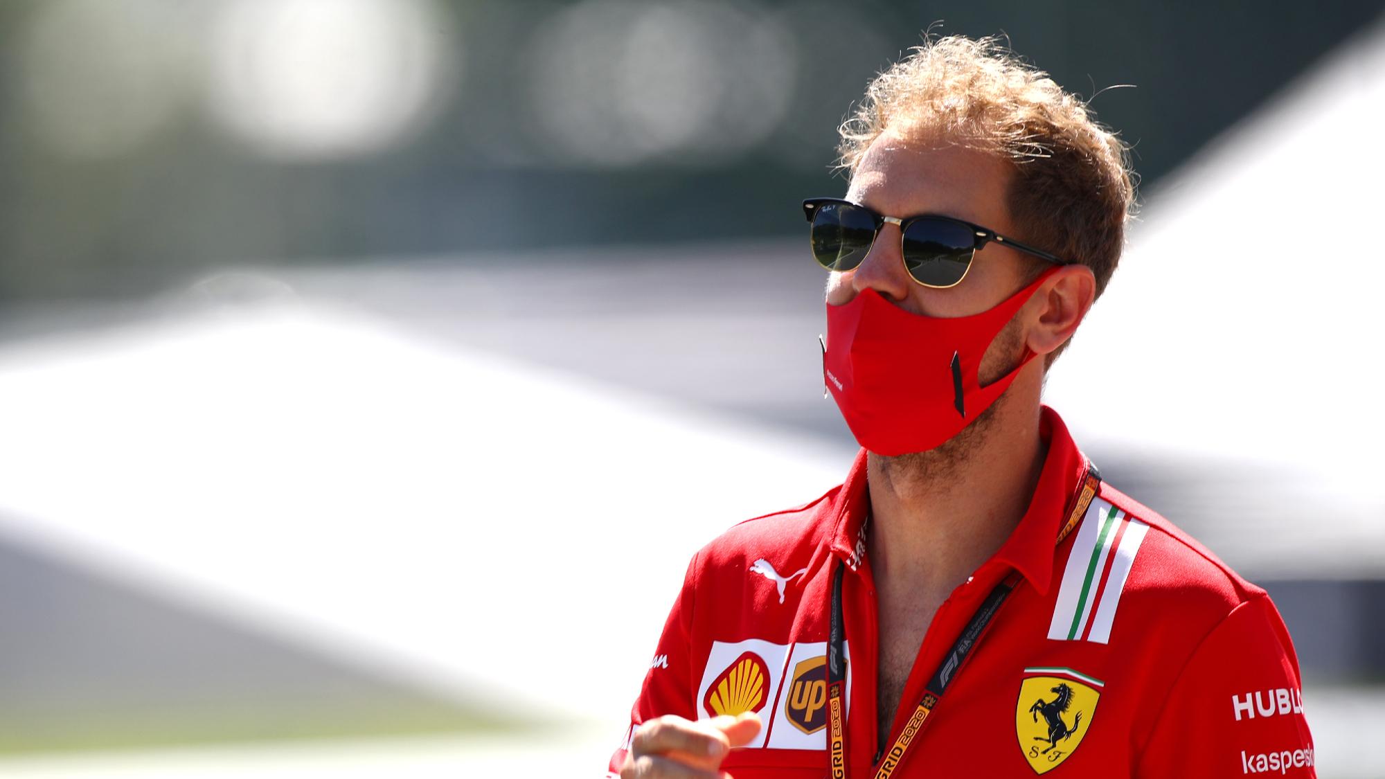 Sebastian Vettel, Austrian GP 2020
