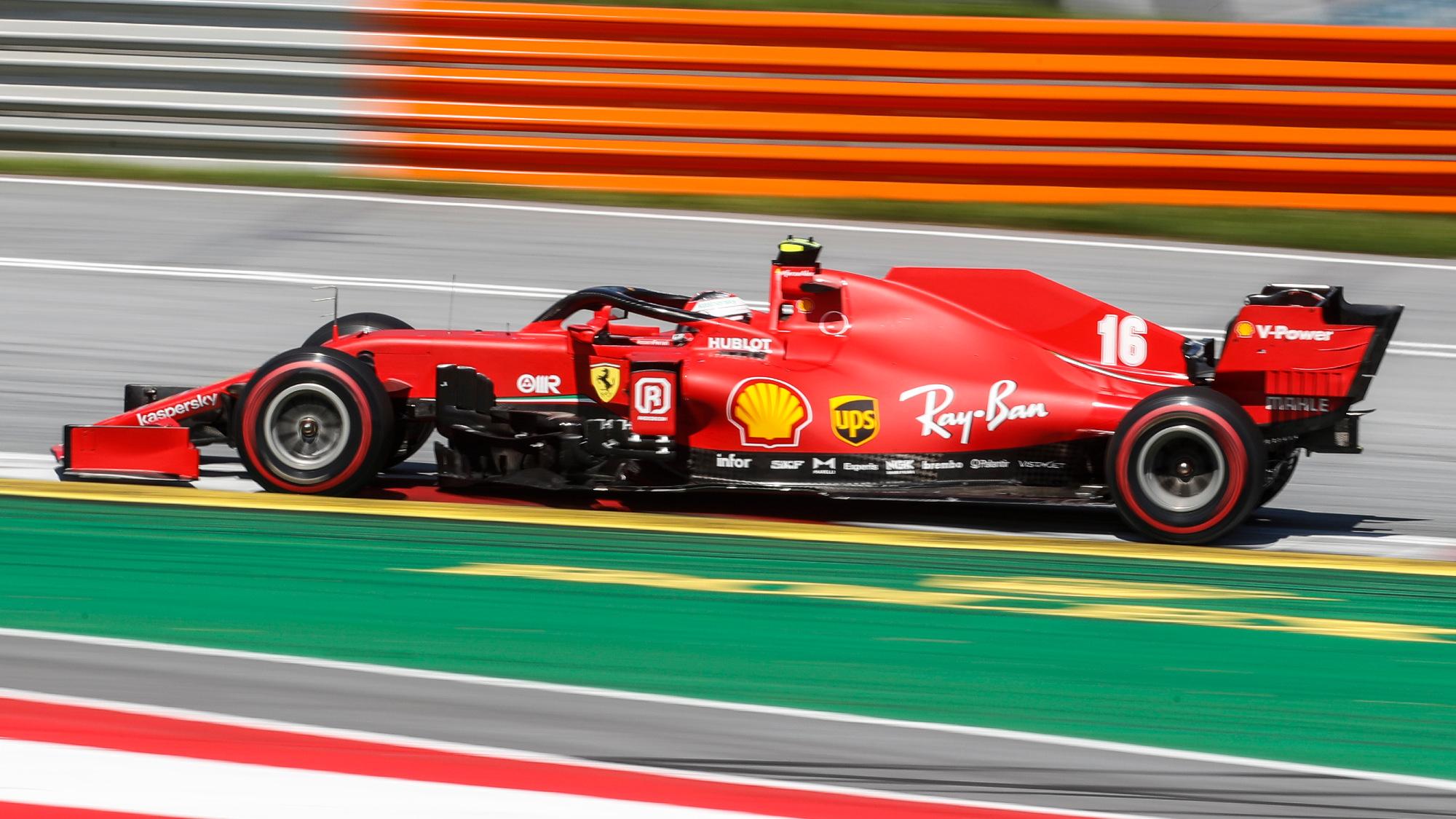 Charles Leclerc, 2020 Austrian GP