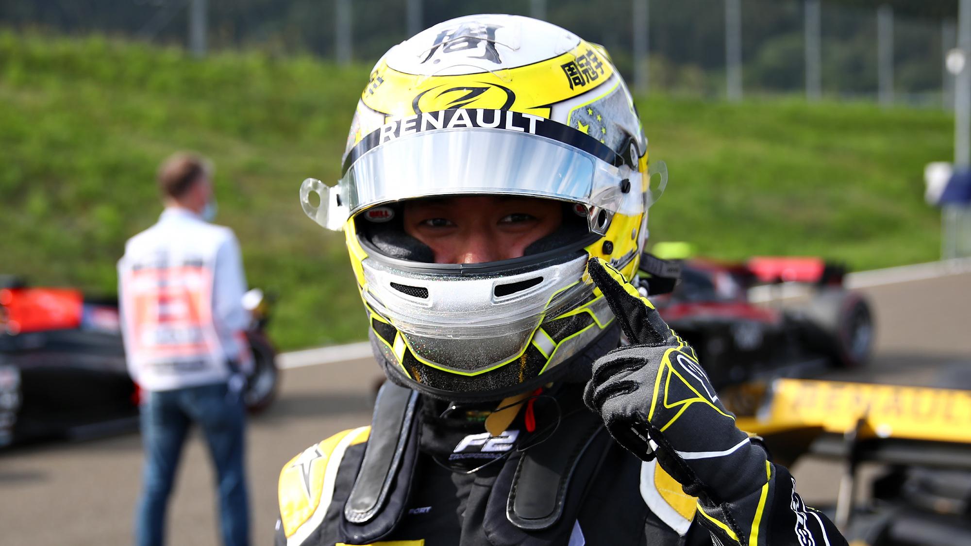 Guanyu Zhou, Austrian GP 2020