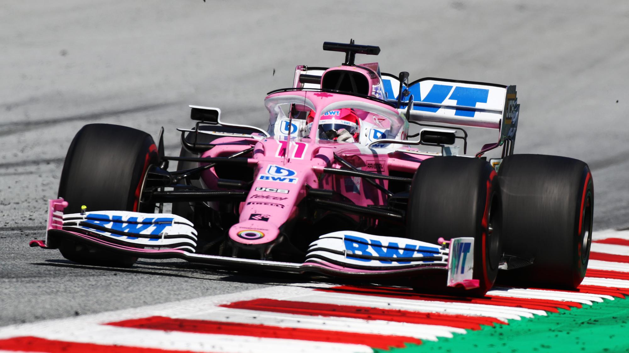 Sergio Perez, 2020 Austrian GP