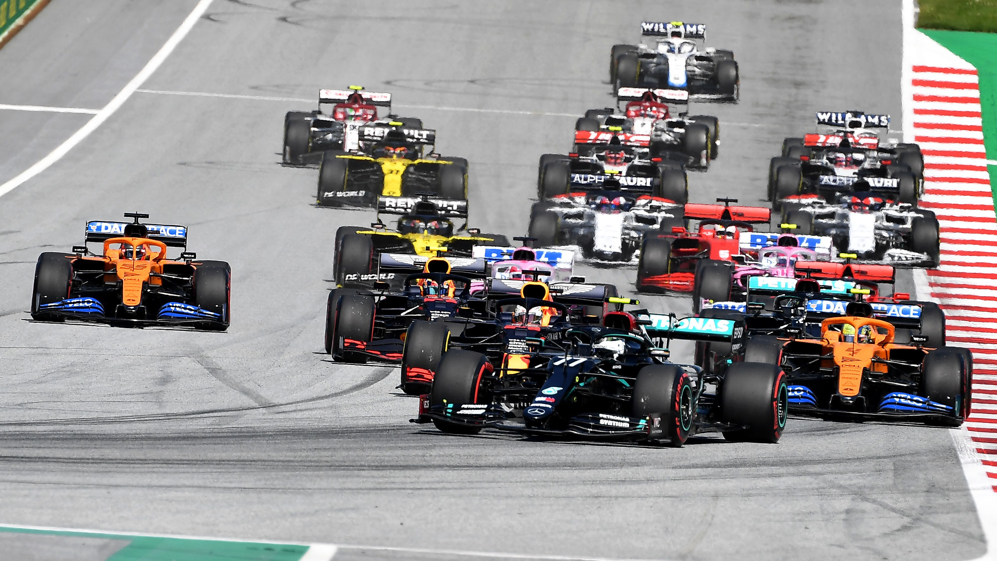 Will anything change for race two in Austria?