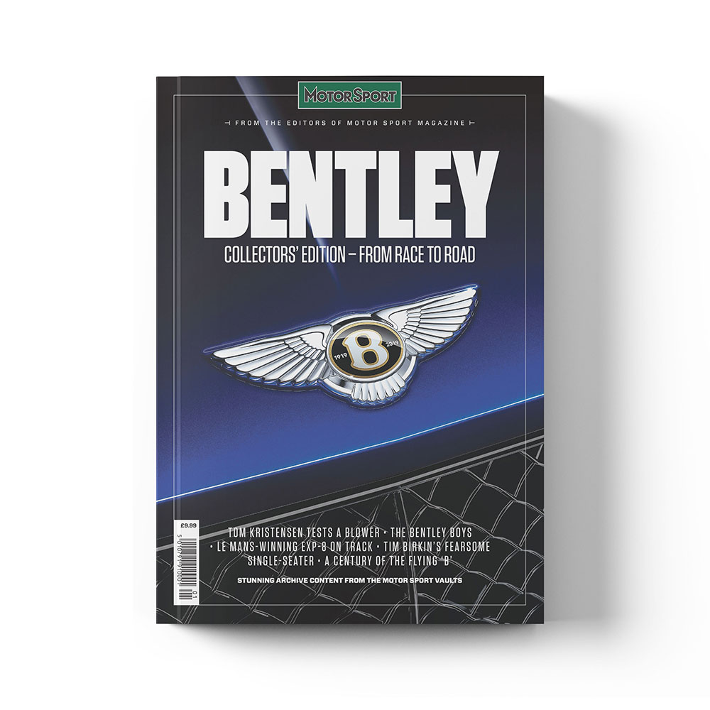 Product image for Bentley - From Race to Road | Motor Sport | Collector's Edition Bookazine