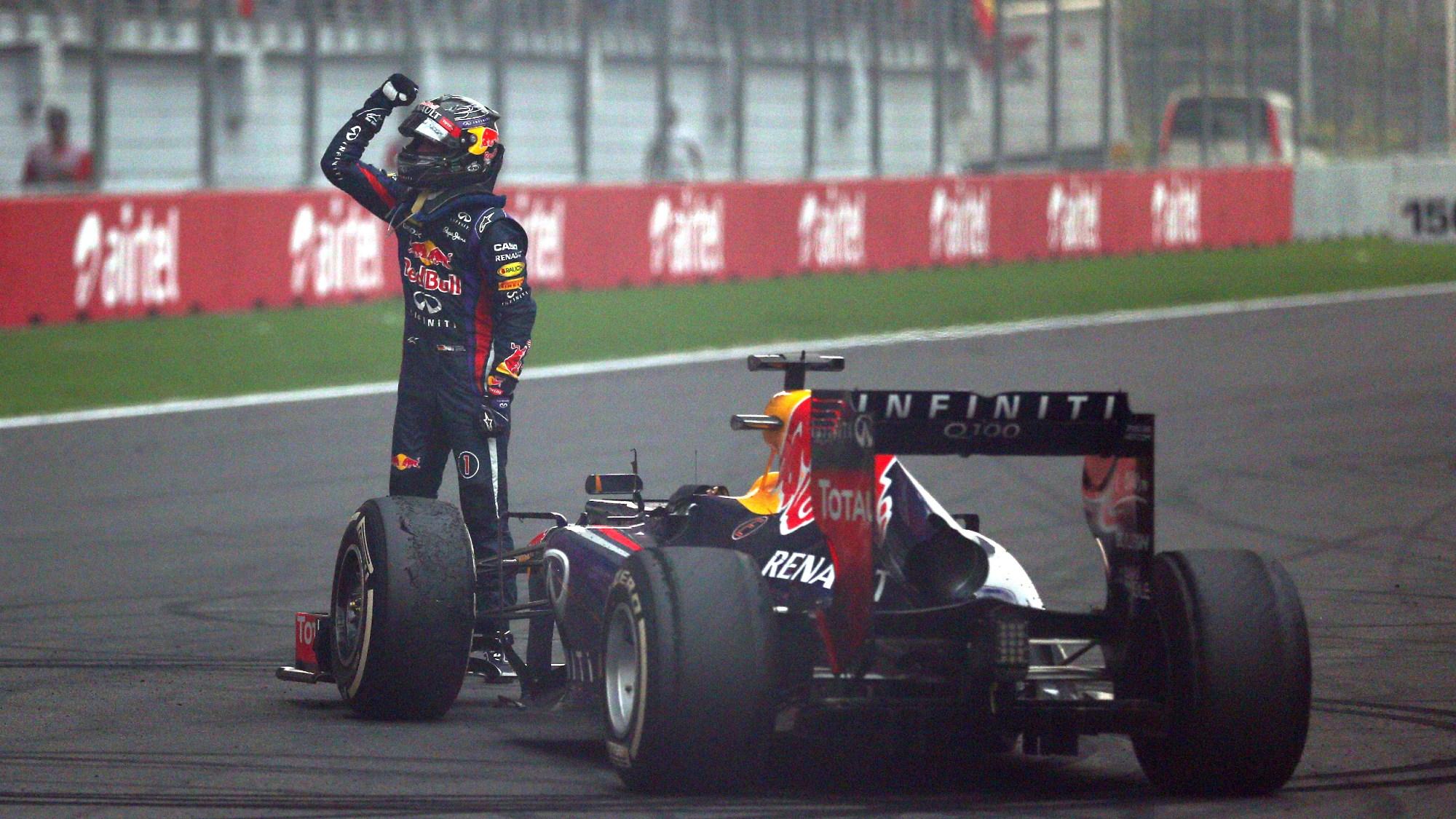Sebastian Vettel, 2013 Indian Grand Prix