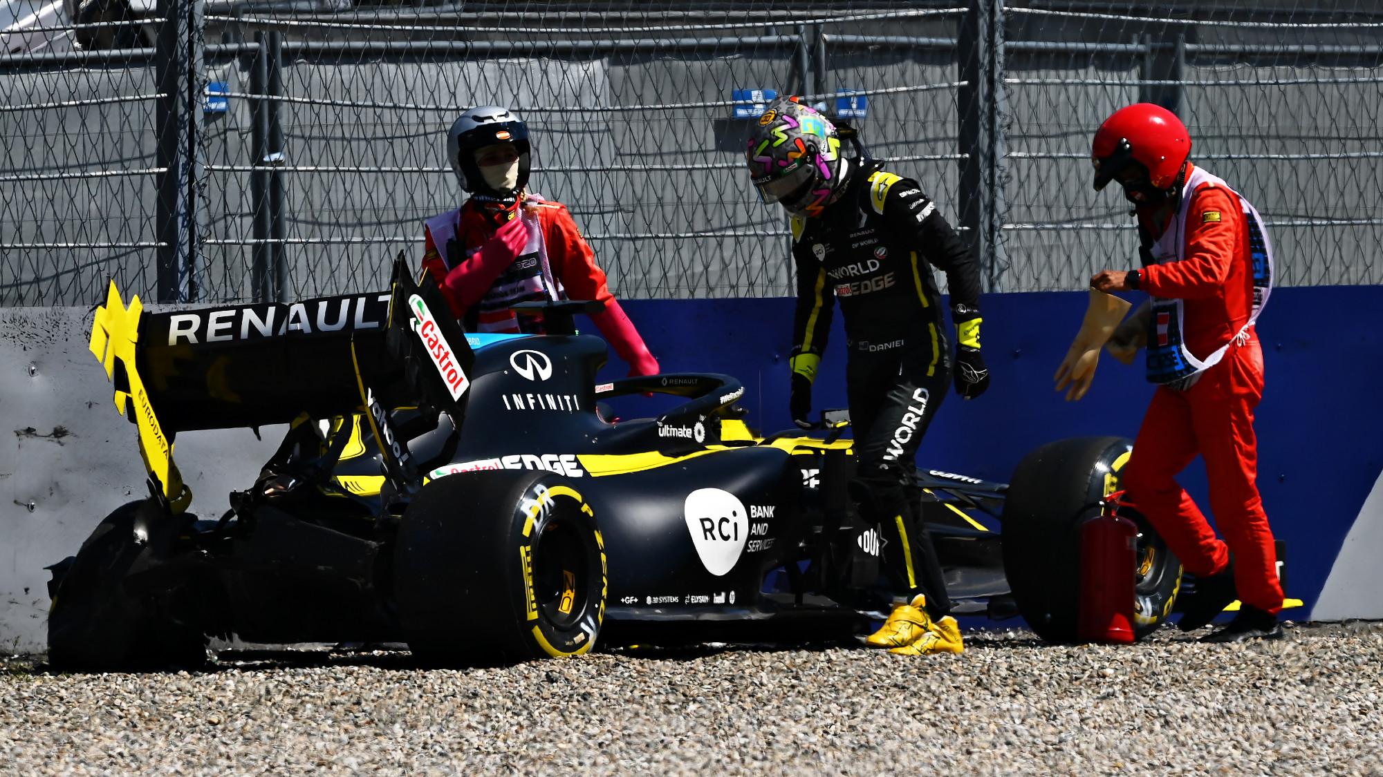 Daniel Ricciardo, Styrian GP FP2