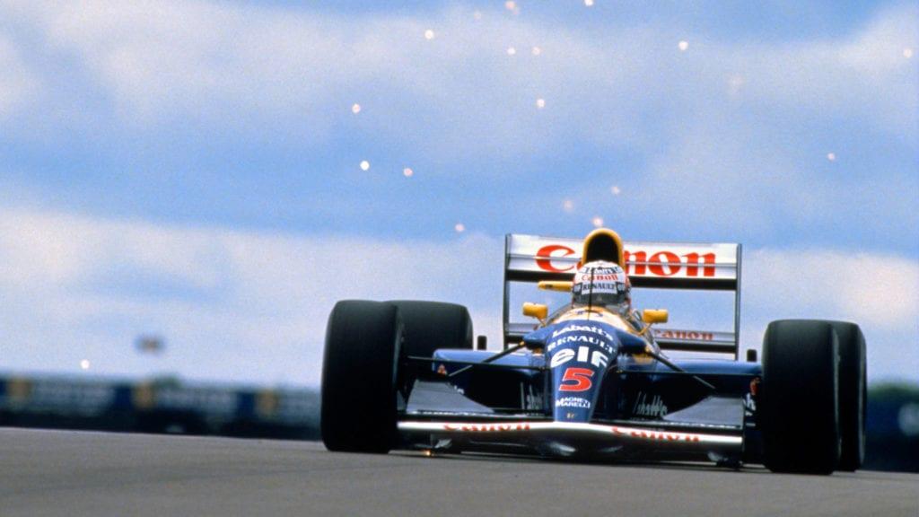 Nigel Mansell, 1992 British Grand Prix