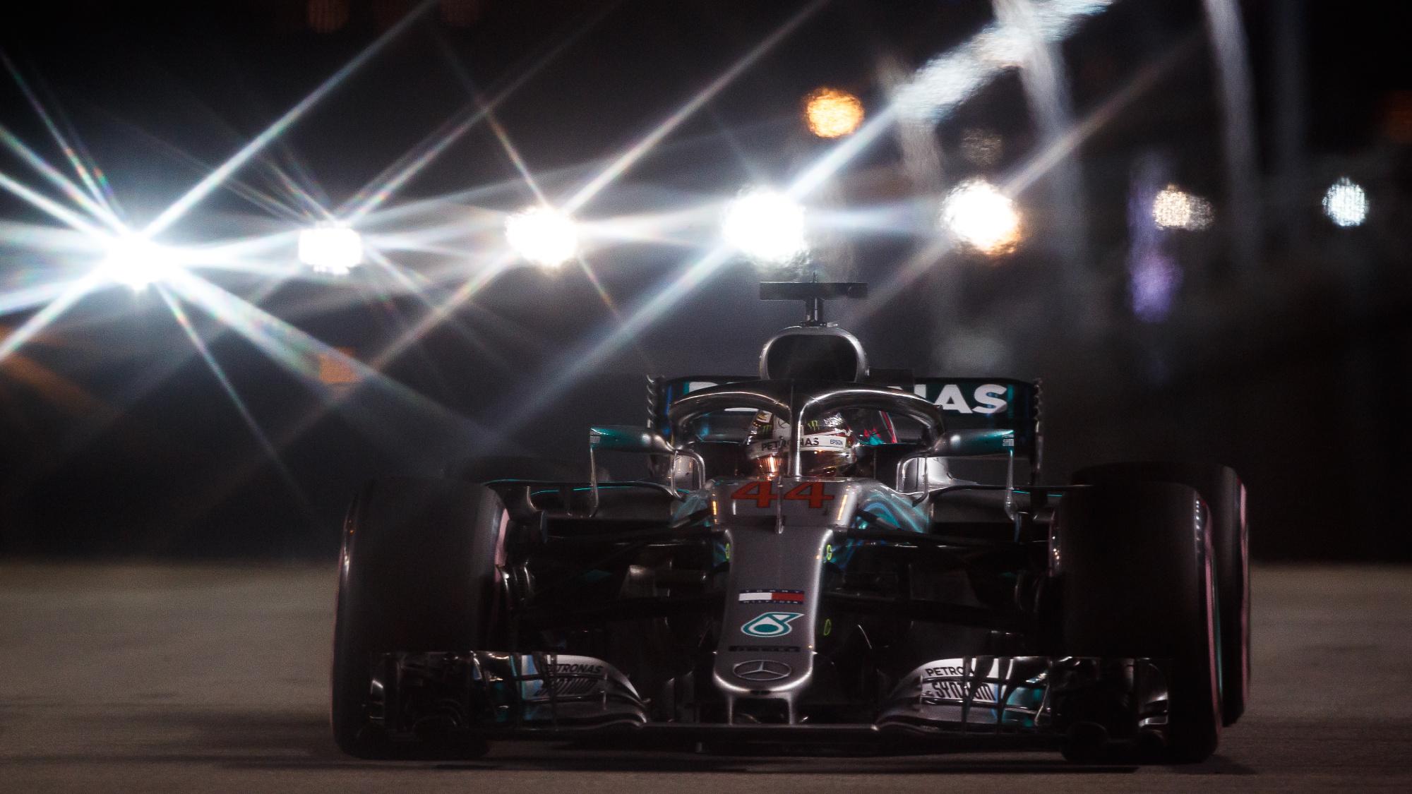 Lewis Hamilton, 2018 Singapore Grand Prix