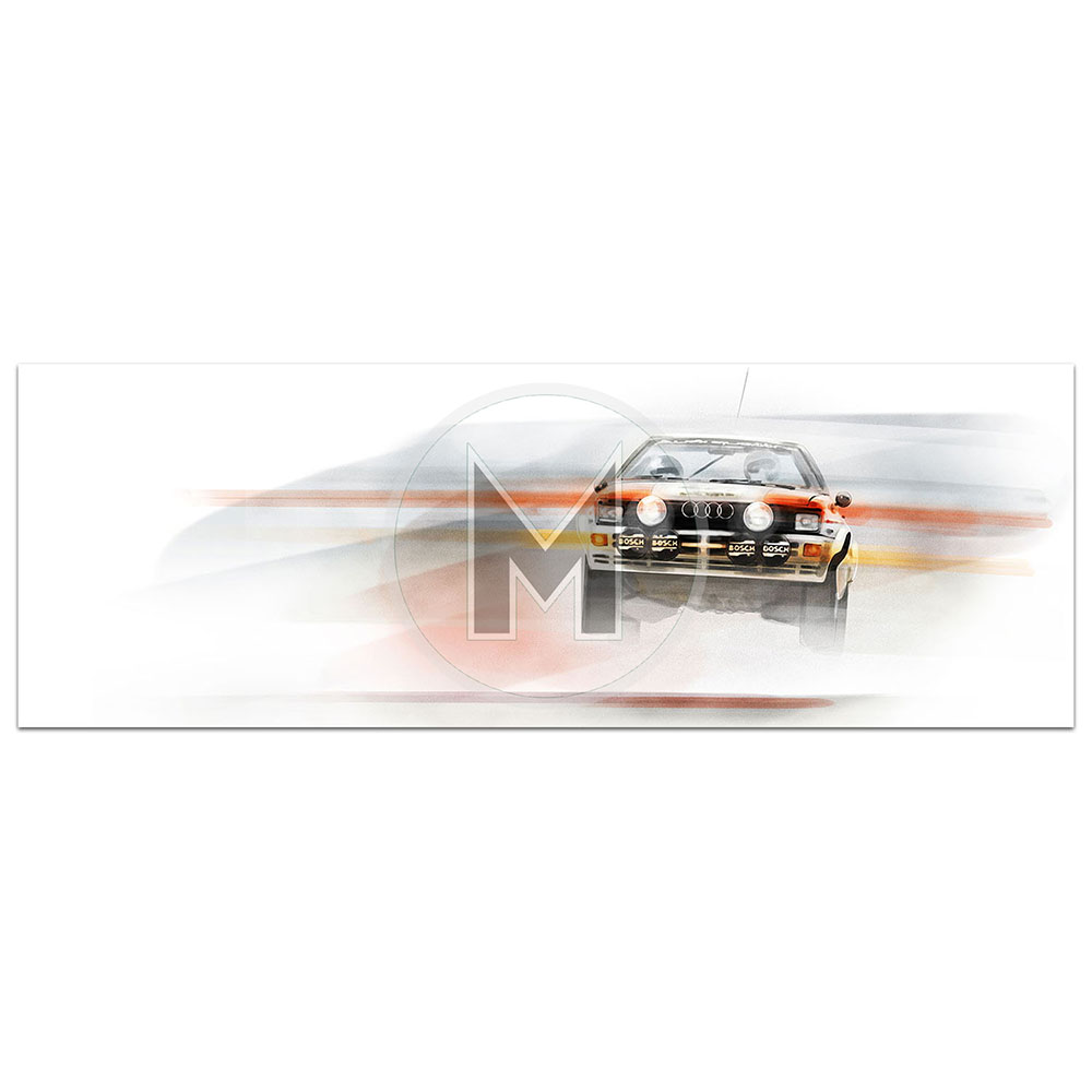 Product image for Audi Quattro | Frederic Dams | Art Print