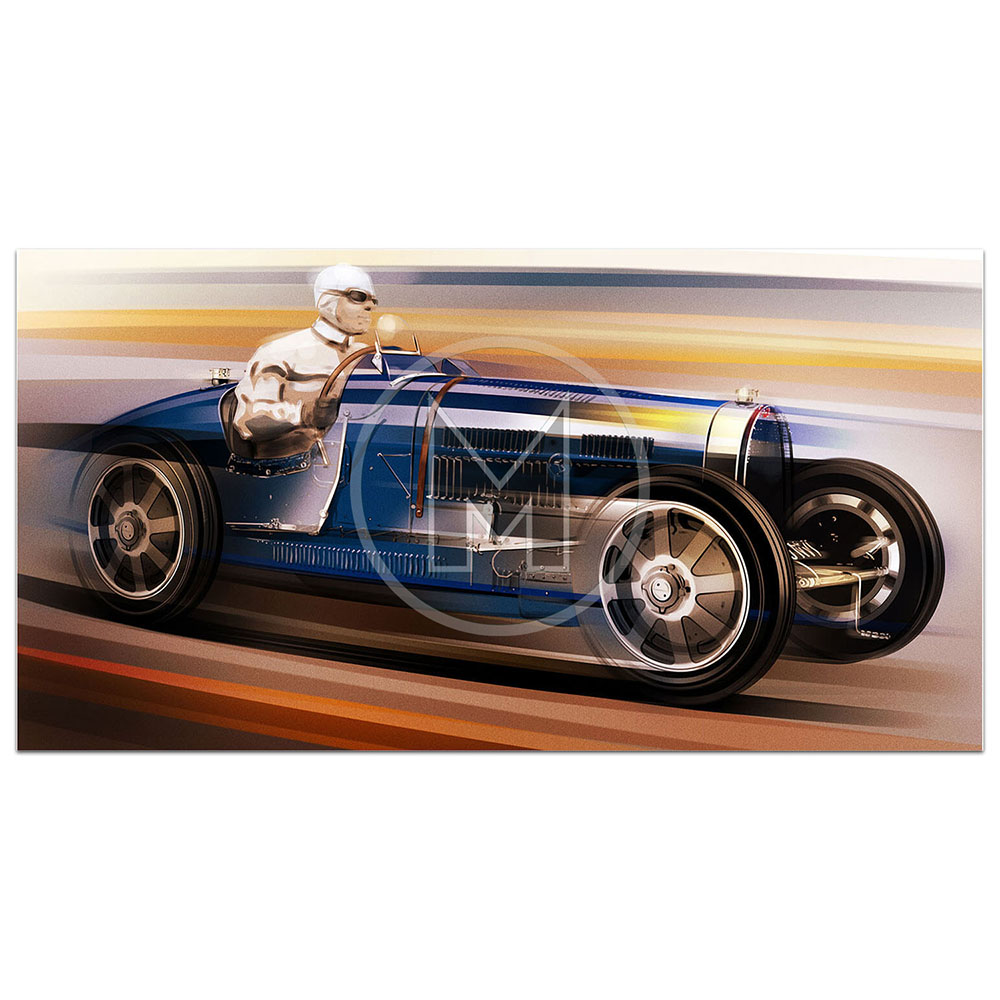 Product image for Bugatti Type 51 | Frederic Dams | Art Print