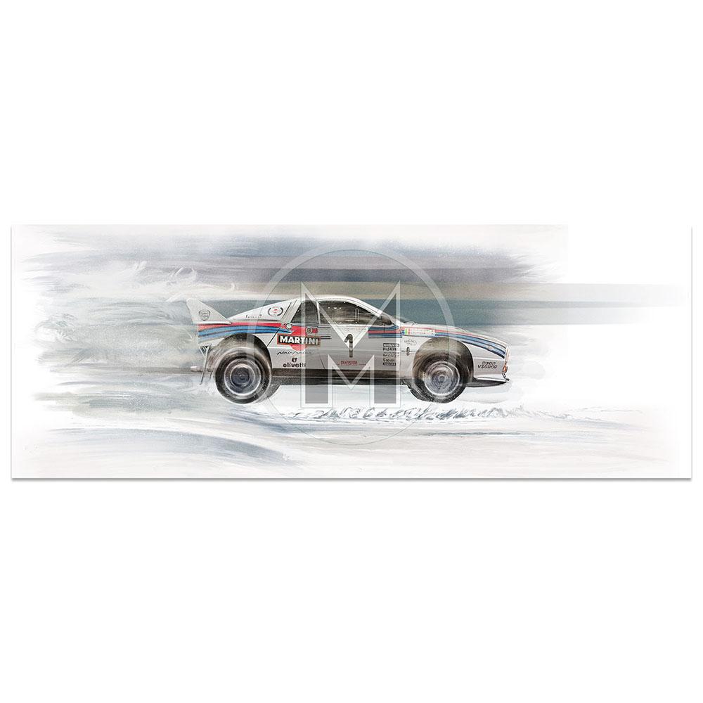 Product image for Lancia 037 | 1984 Rally Autodromo di Monza | Frederic Dams | Art Print