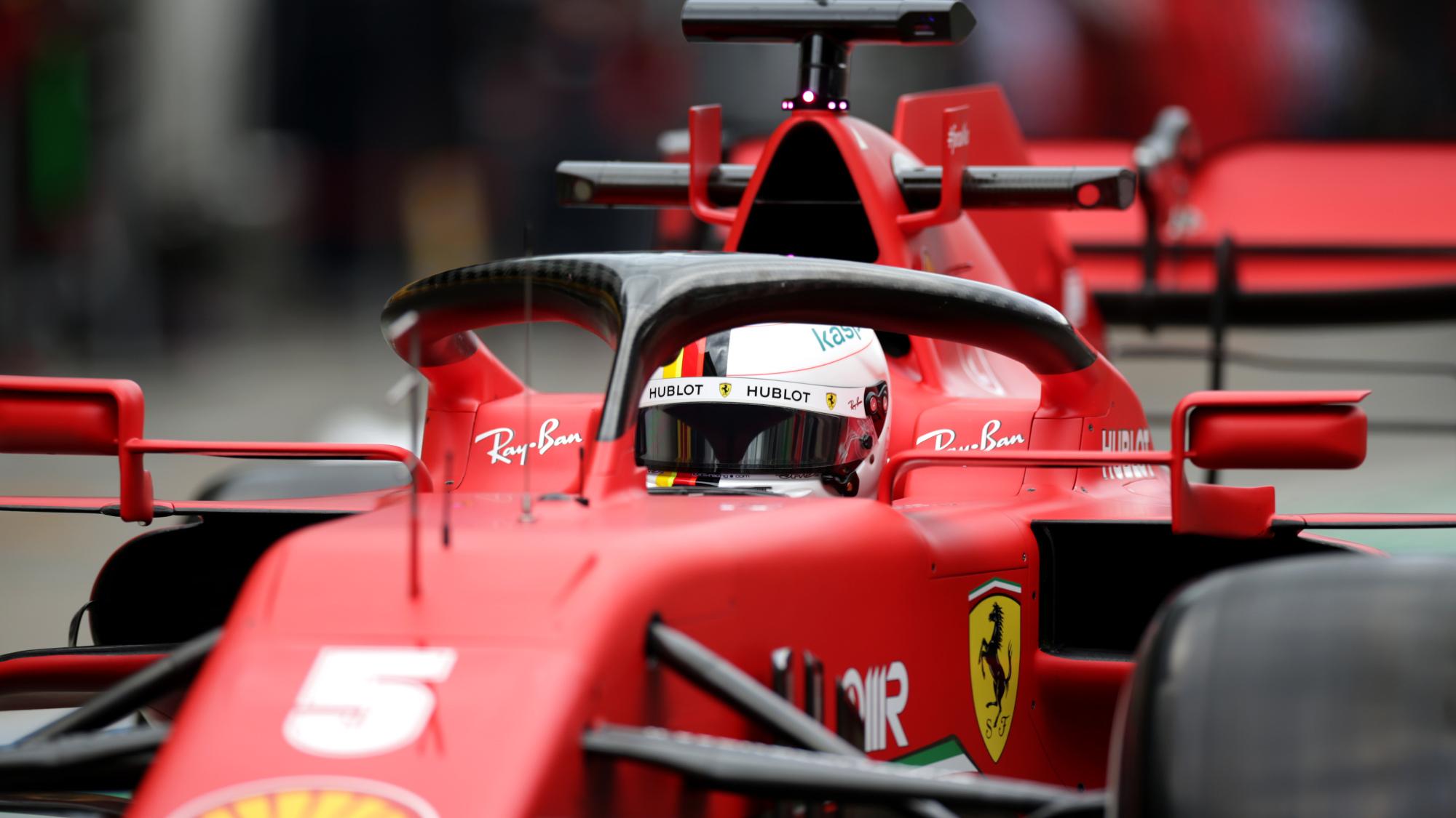 Sebastian Vettel, 2020 Styrian GP